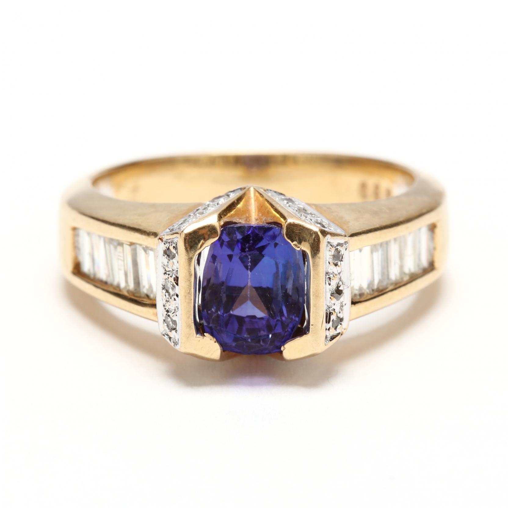 18kt-tanzanite-and-diamond-ring