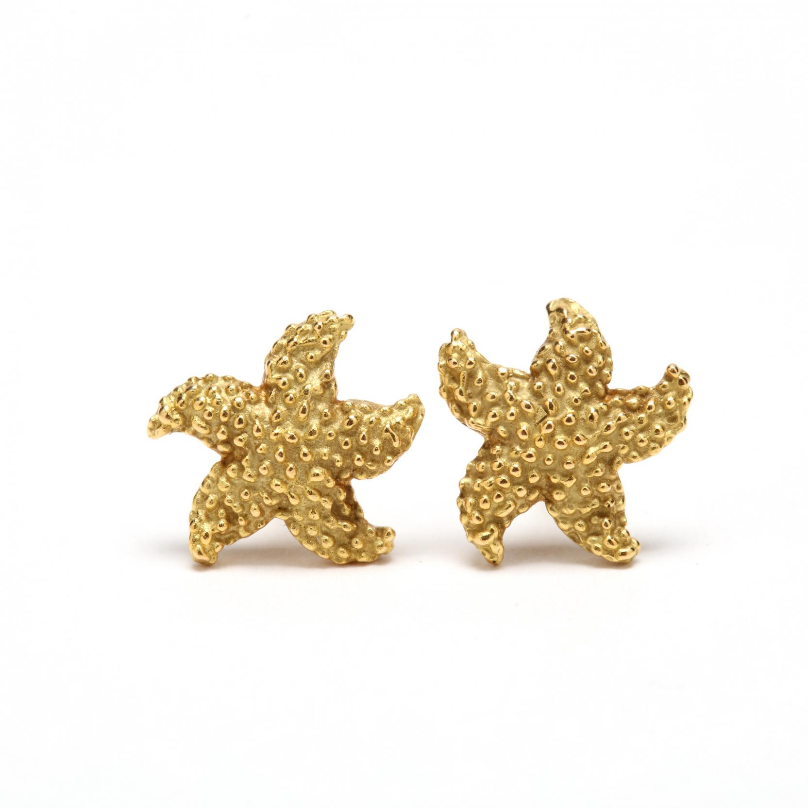 18kt-gold-starfish-stud-earrings-mcteigue-for-tiffany-co