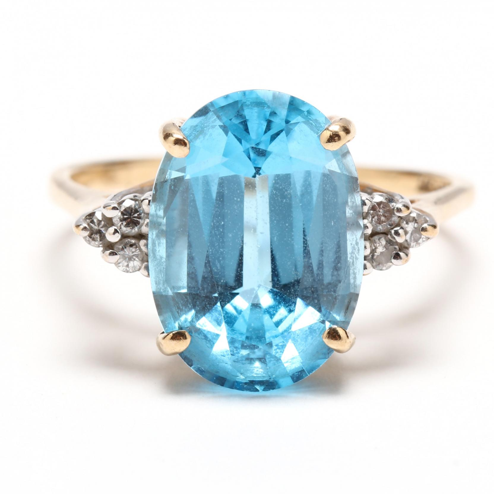 14kt-blue-topaz-and-diamond-ring