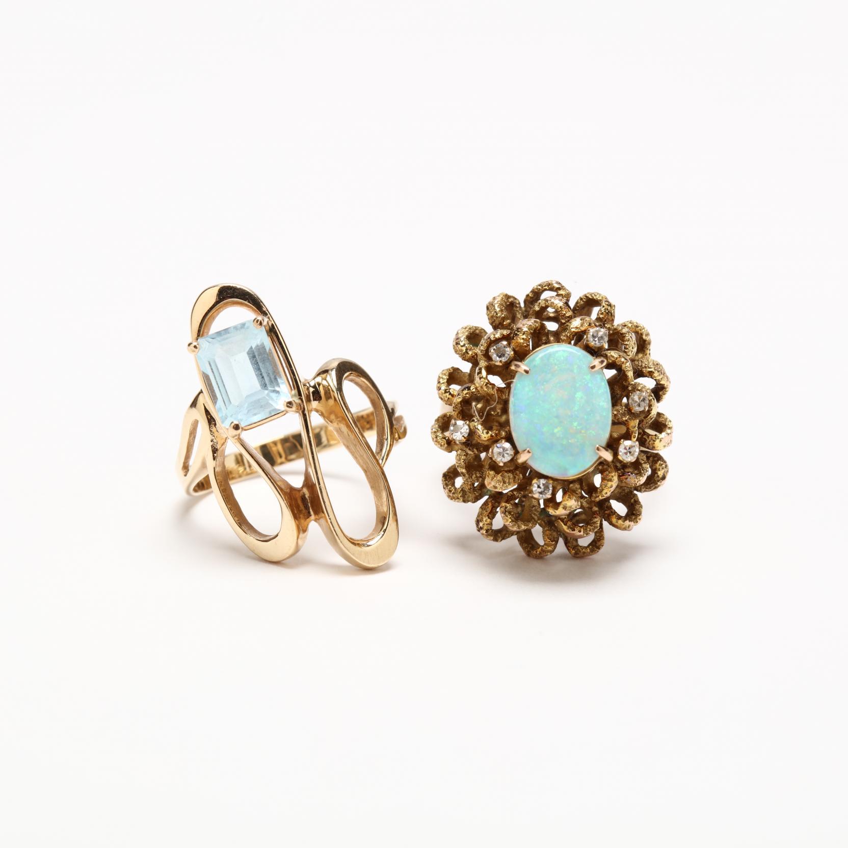 two-gem-set-rings