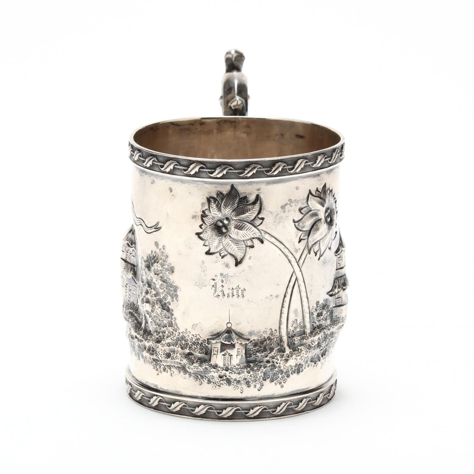 a-chinoiserie-coin-silver-cup-mark-of-peter-l-krider