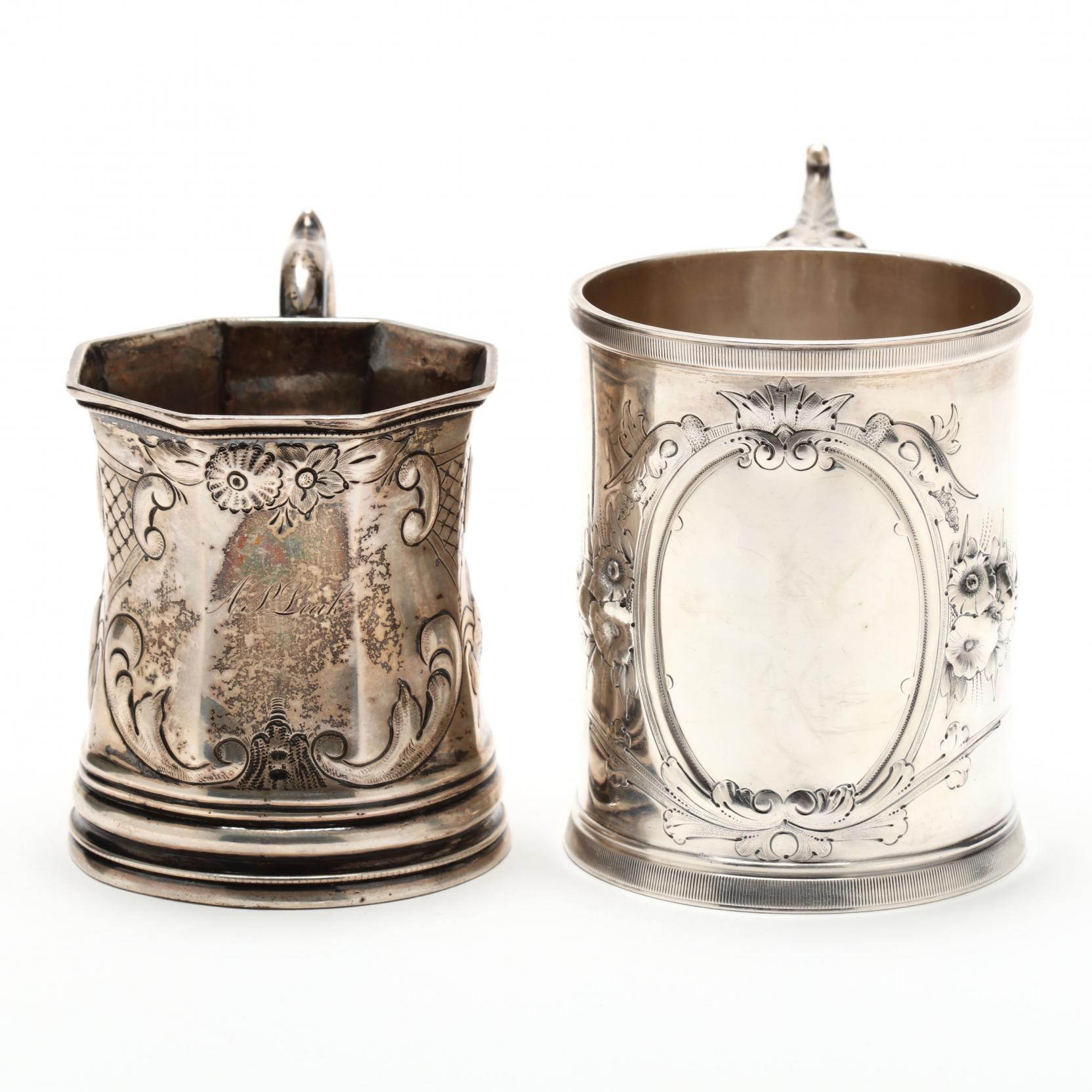 two-new-york-coin-silver-cups-mark-of-wood-hughes