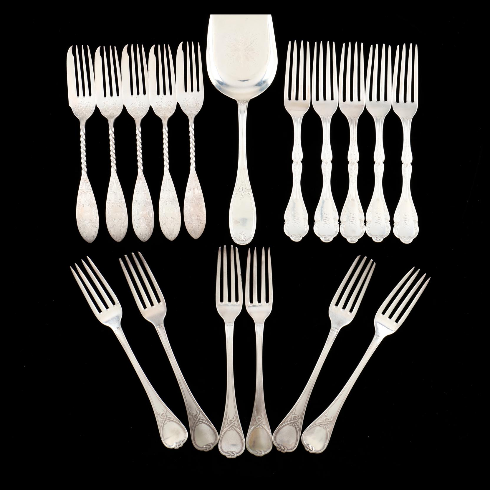 an-assembled-grouping-of-american-coin-silver-flatware