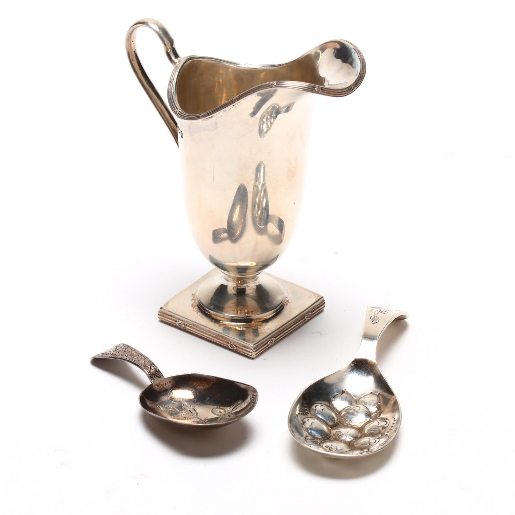 three-english-silver-tea-accoutremonts