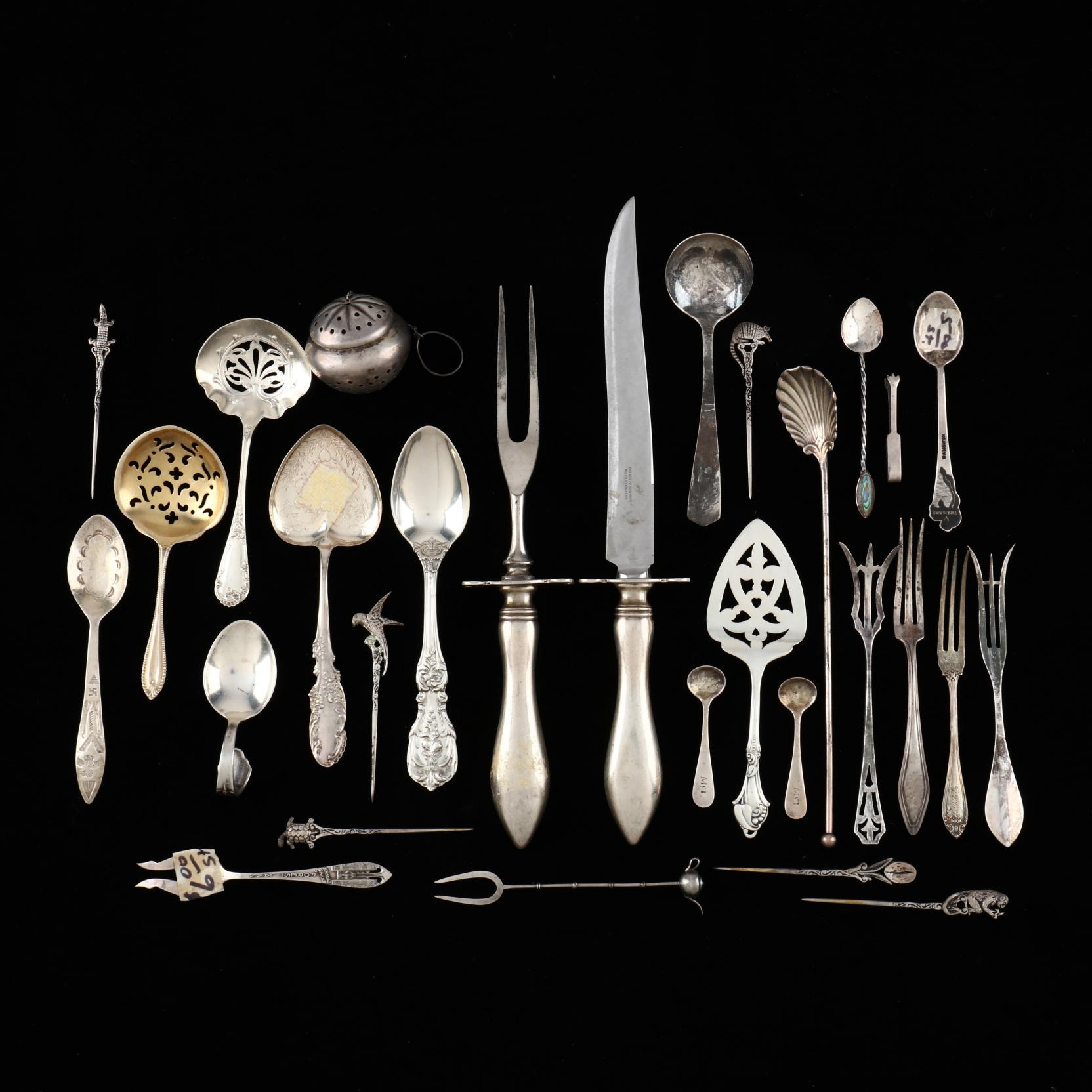 a-group-of-sterling-silver
