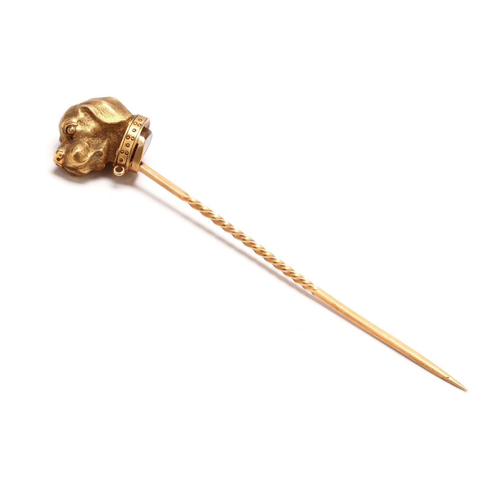 gold-dog-motif-stick-pin