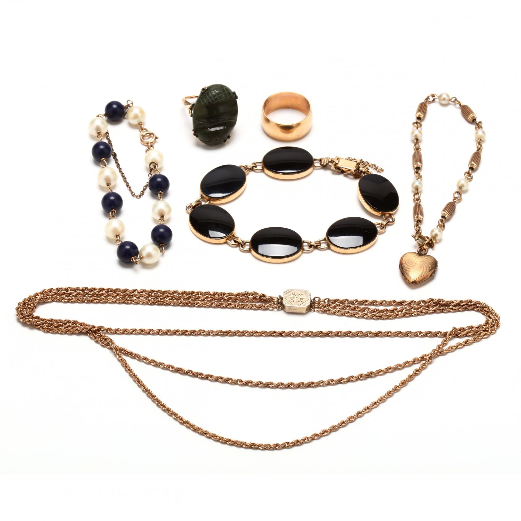 group-of-victorian-gold-filled-and-sterling-jewelry