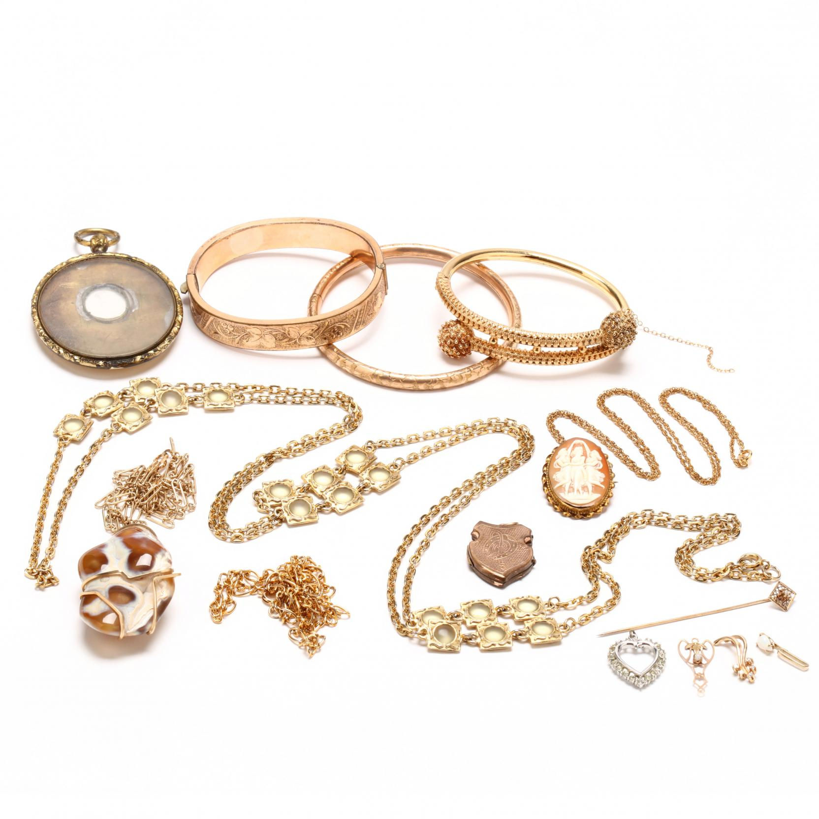 group-of-vintage-costume-jewelry
