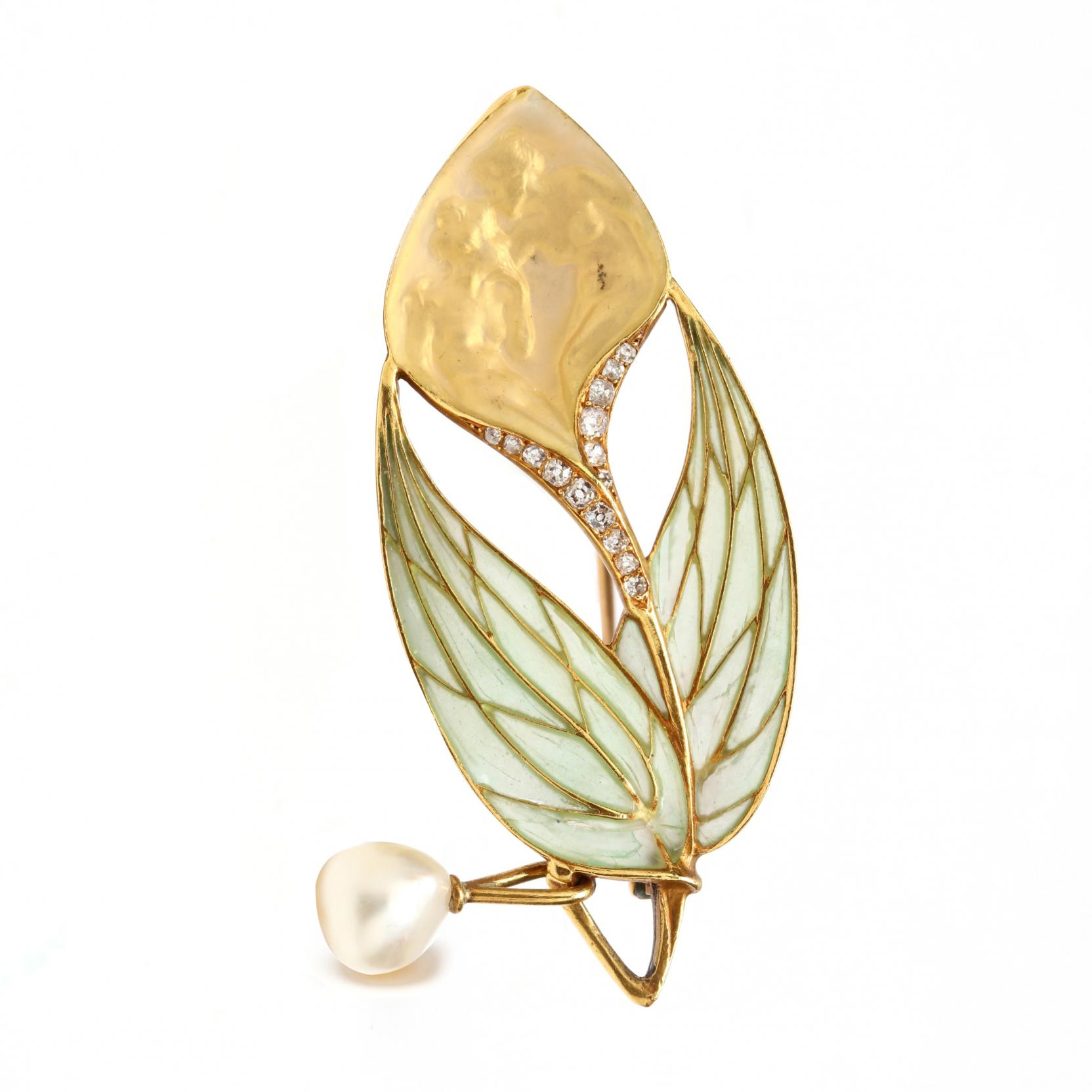 art-nouveau-plique-a-jour-bloomed-gold-and-pearl-brooch