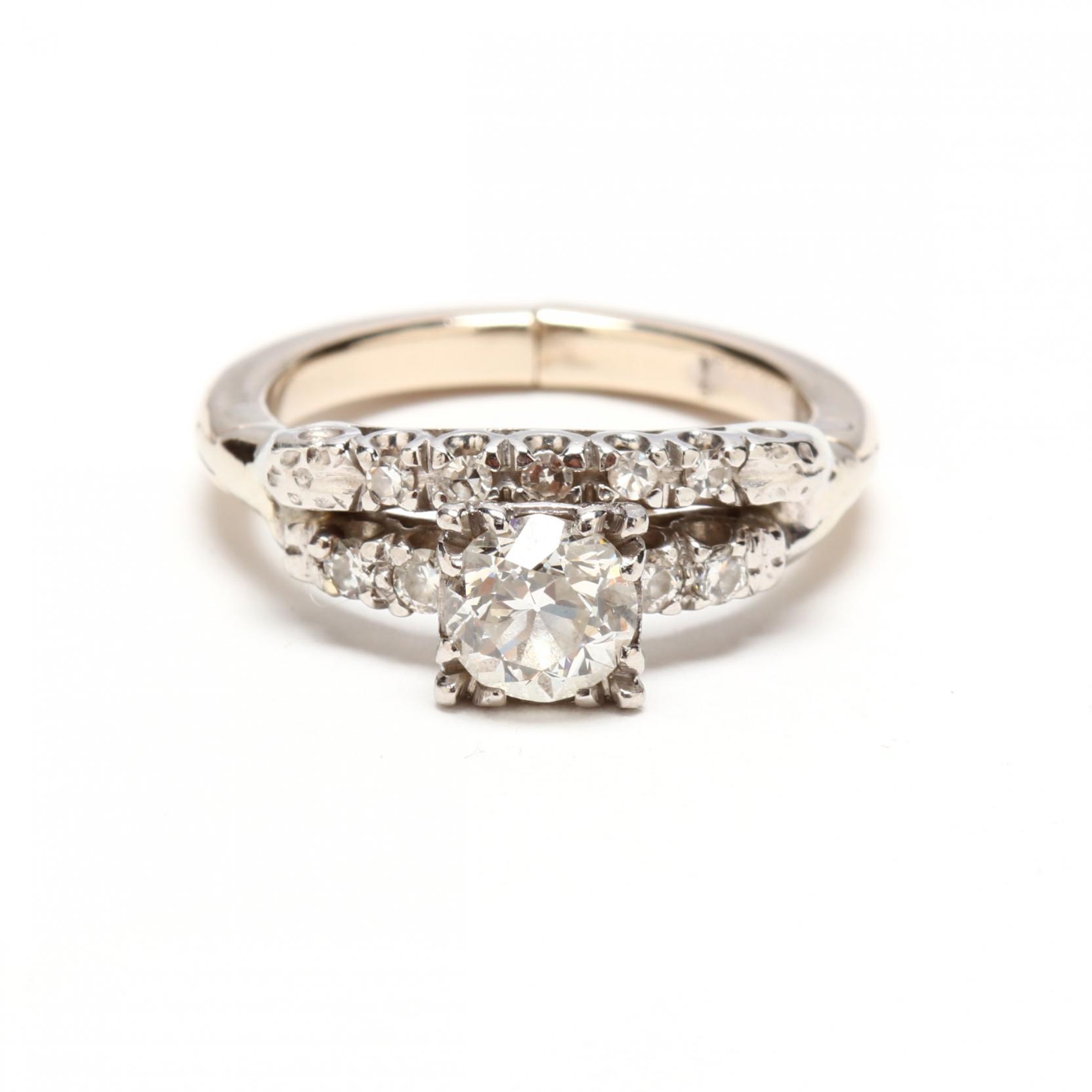 platinum-14kt-white-gold-and-diamond-wedding-set