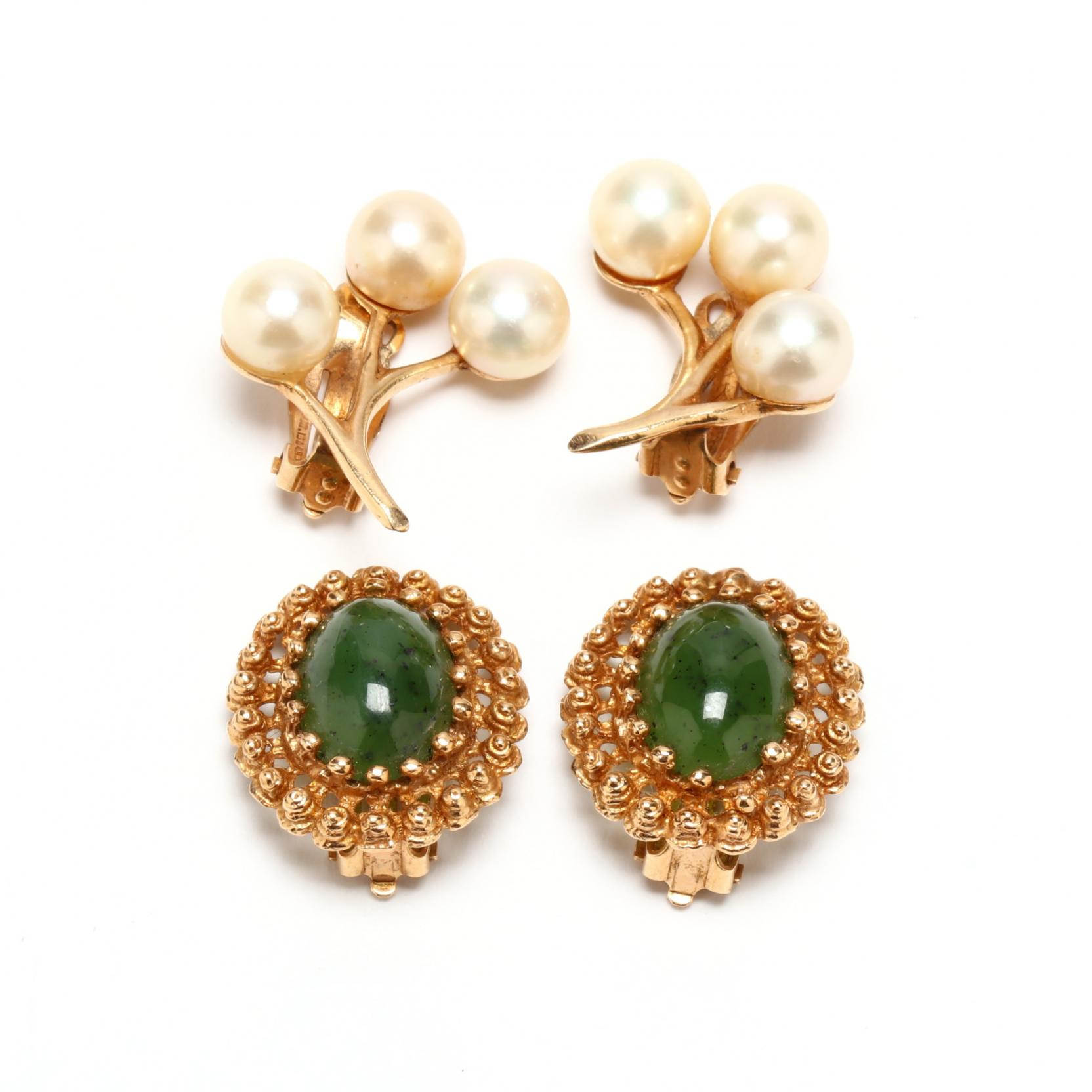 two-pairs-14kt-gold-ear-clips