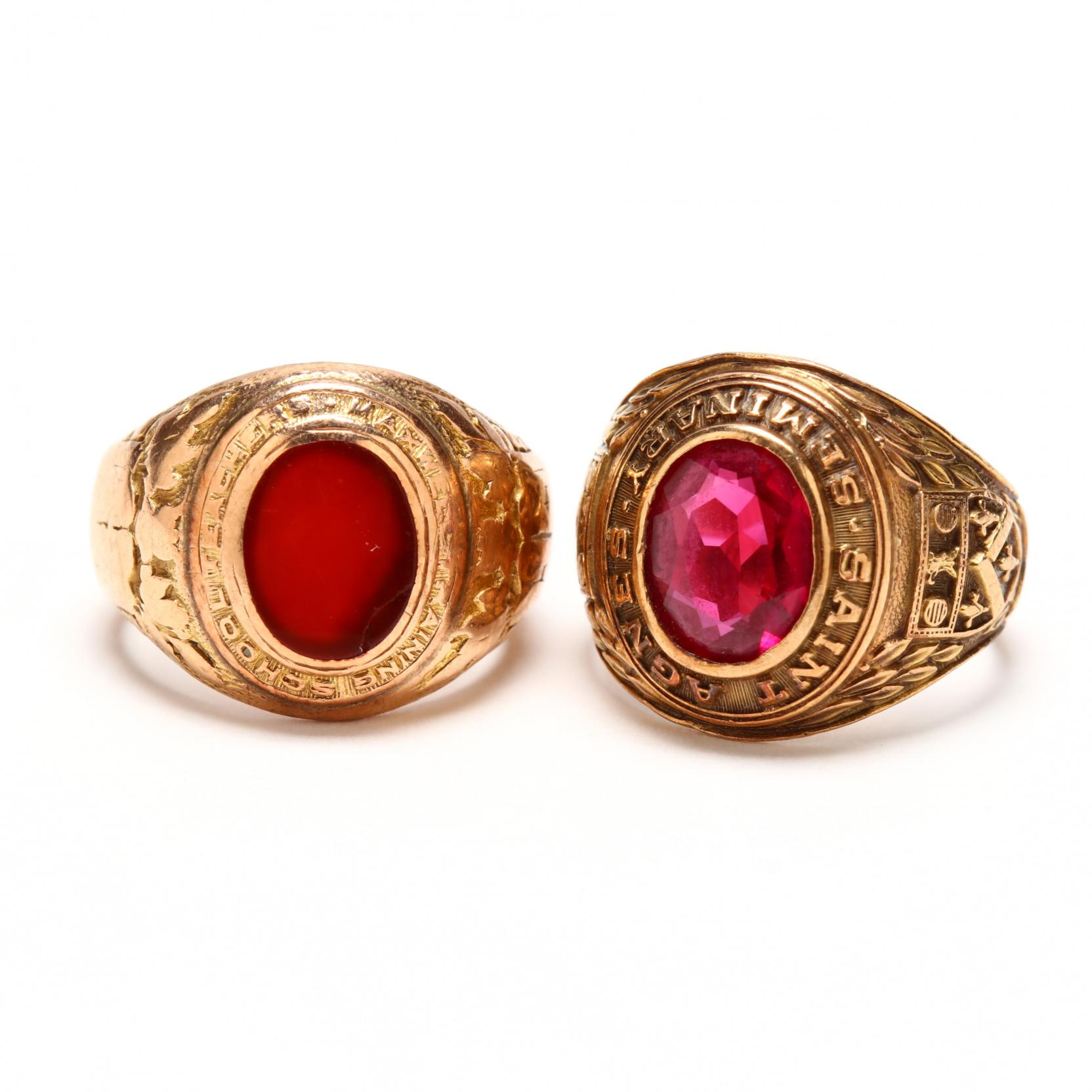 two-vintage-class-rings