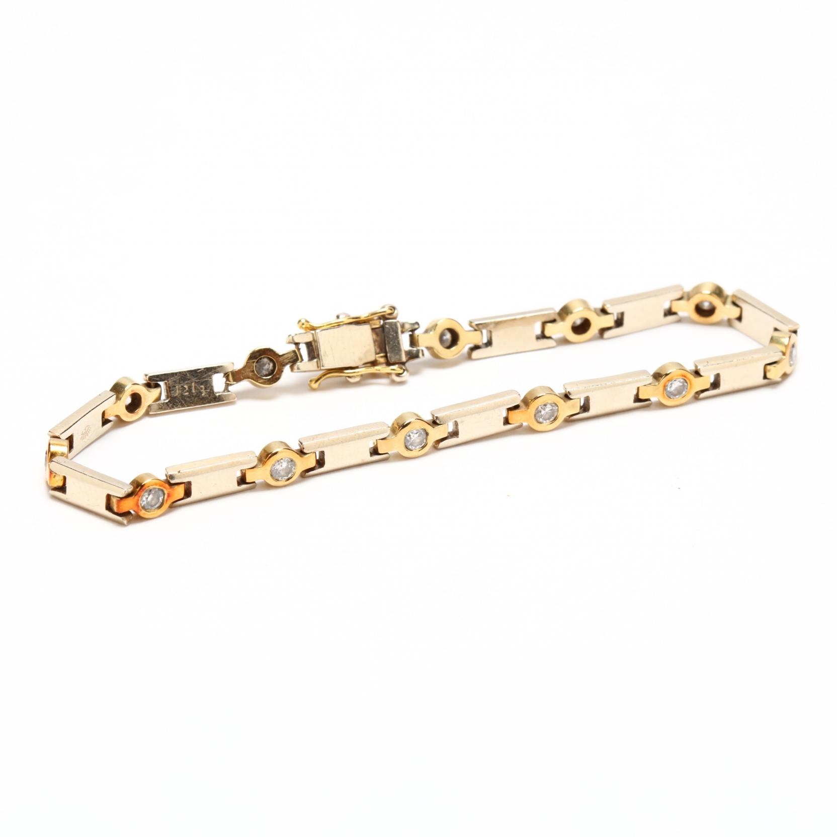 14kt-two-color-gold-and-diamond-bracelet