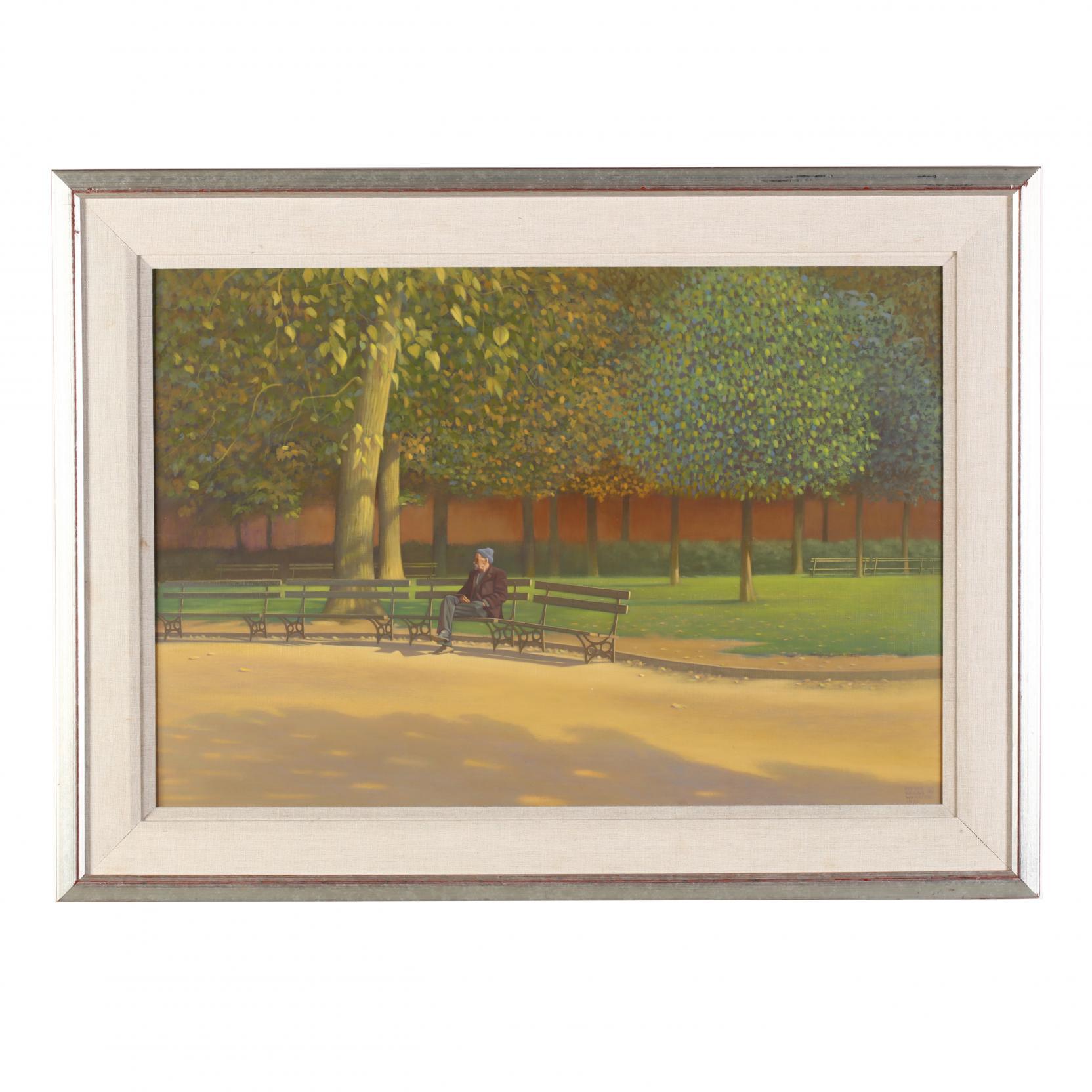 vivian-keens-wharton-nc-1922-1999-i-a-day-in-the-park-i