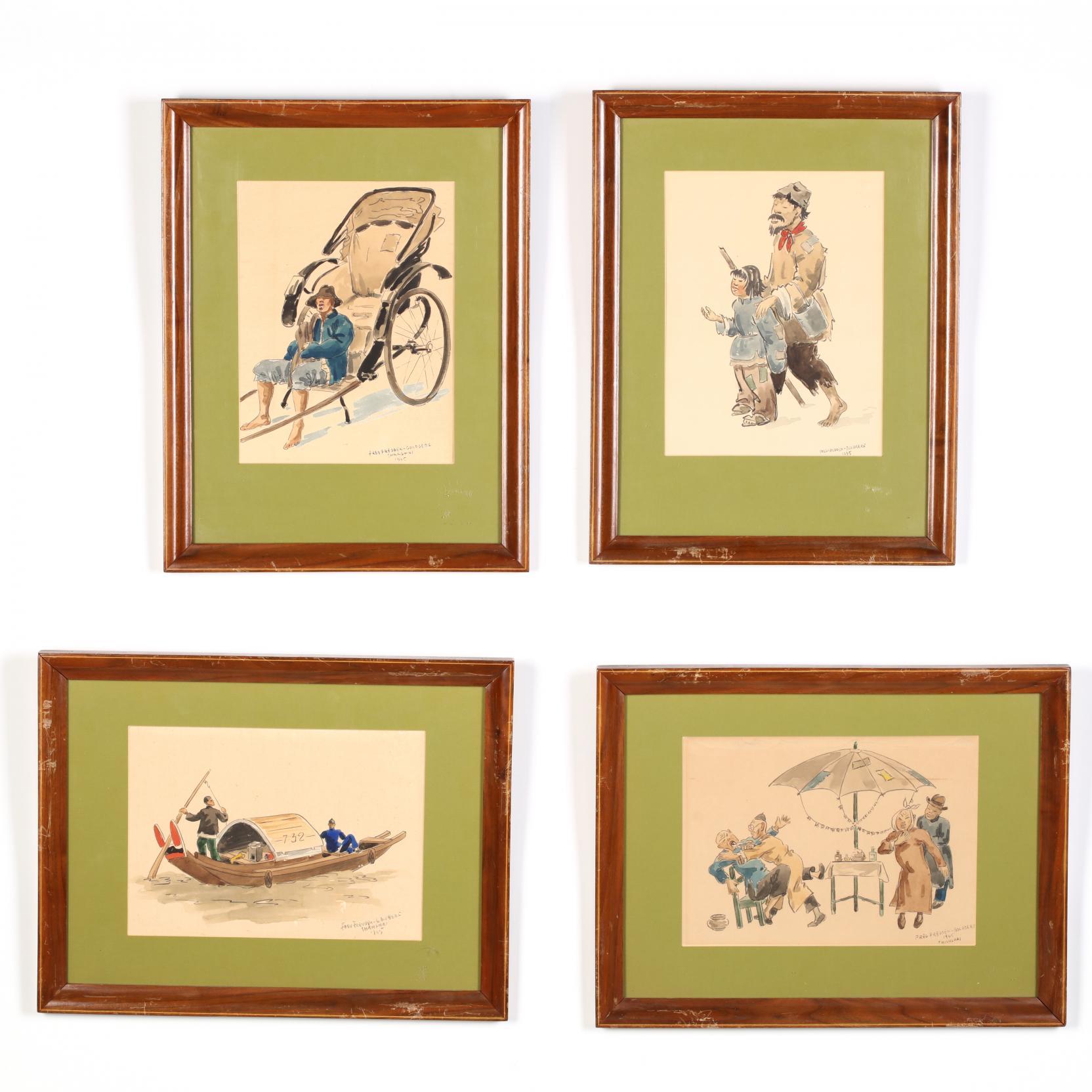 fred-fredden-goldberg-germany-ca-1889-1973-four-shanghai-caricatures