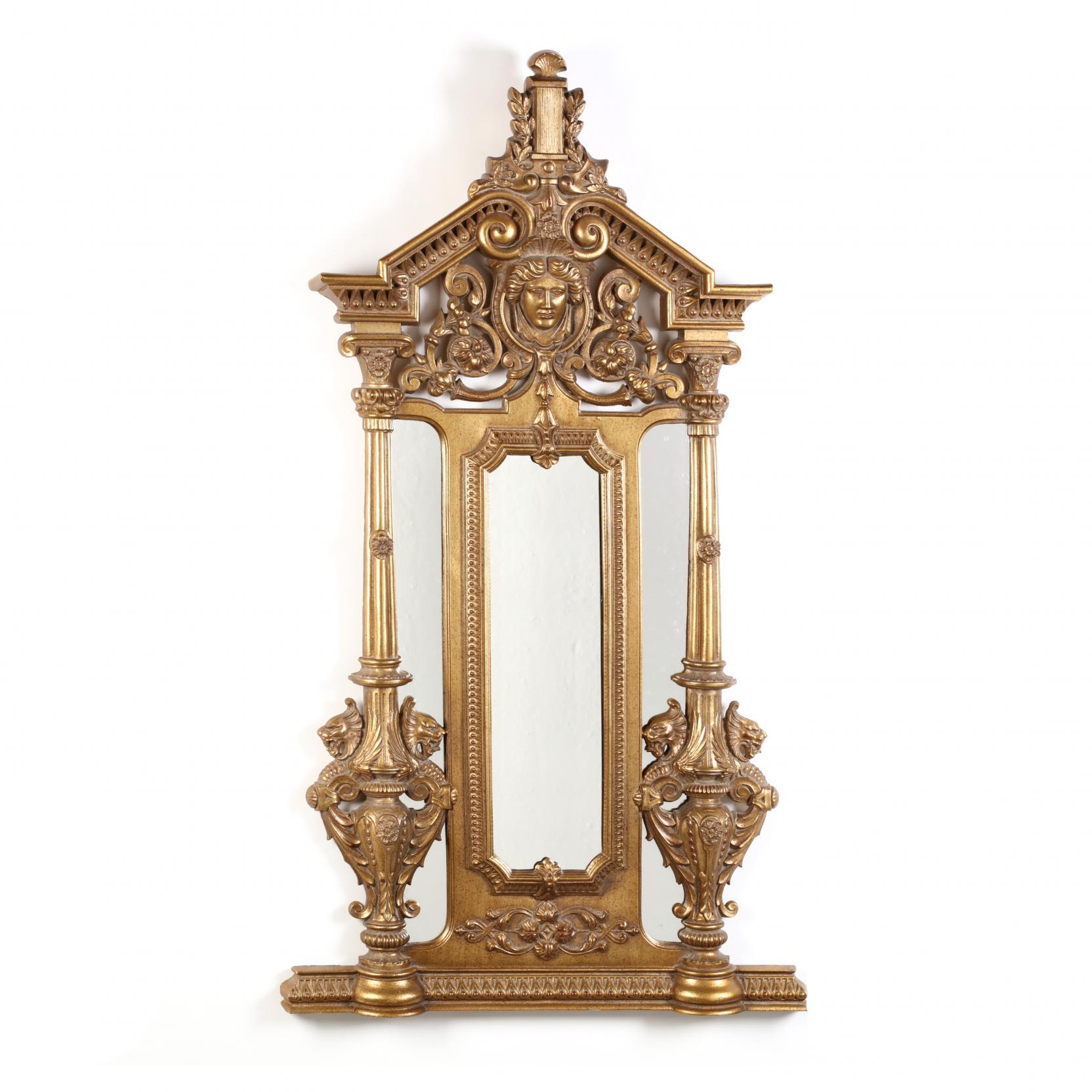 a-contemporary-renaissance-revival-gilt-mirror
