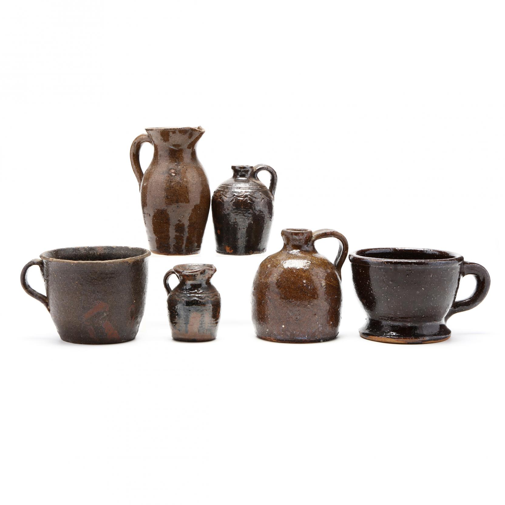 a-selection-of-small-western-nc-utilitarian-pottery