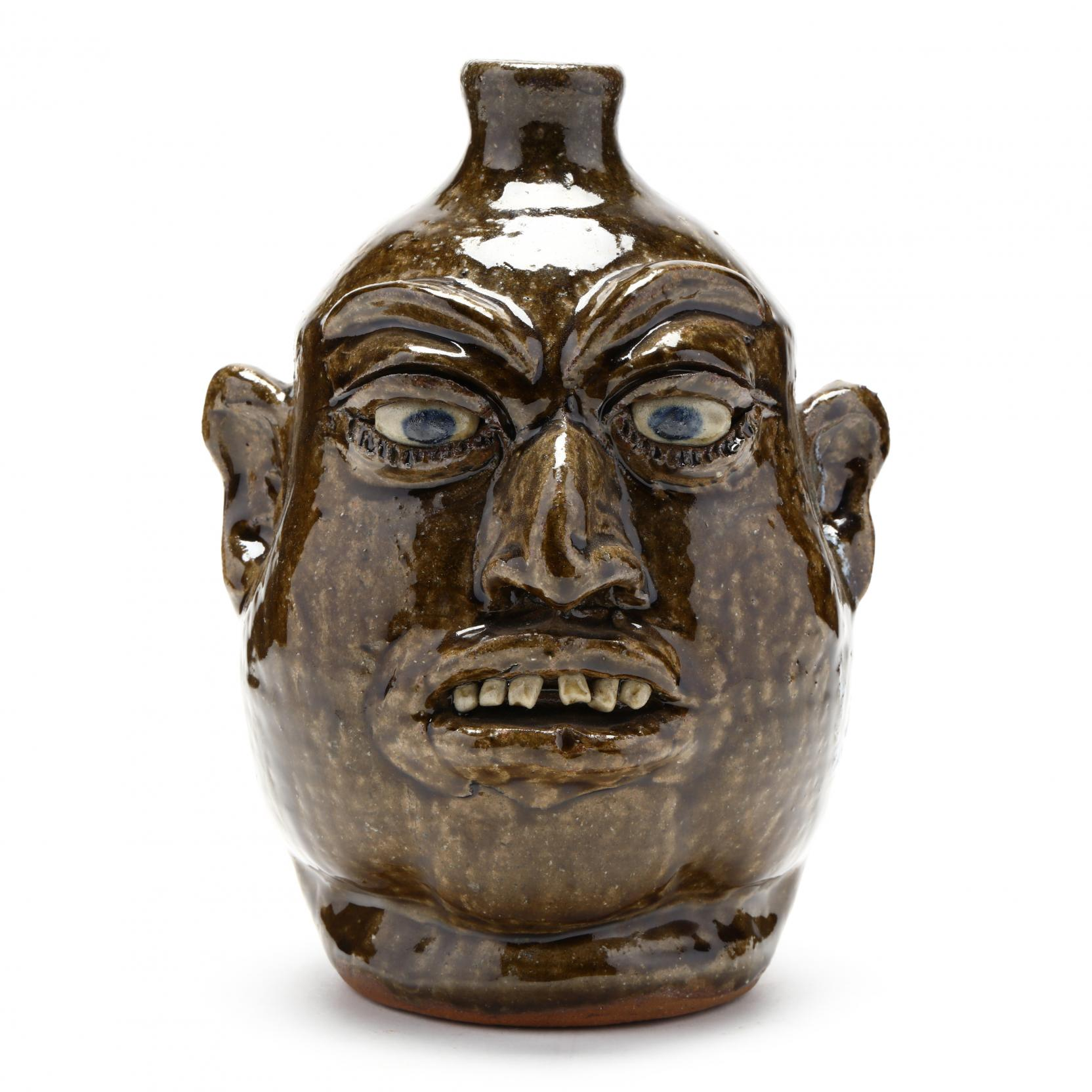 georgia-folk-pottery-face-jug-lanier-meaders-white-county-1917-1998