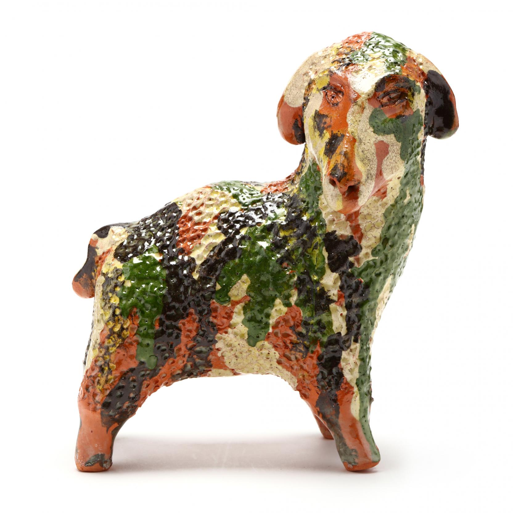 nc-folk-pottery-billy-ray-hussey-sheep-figurine