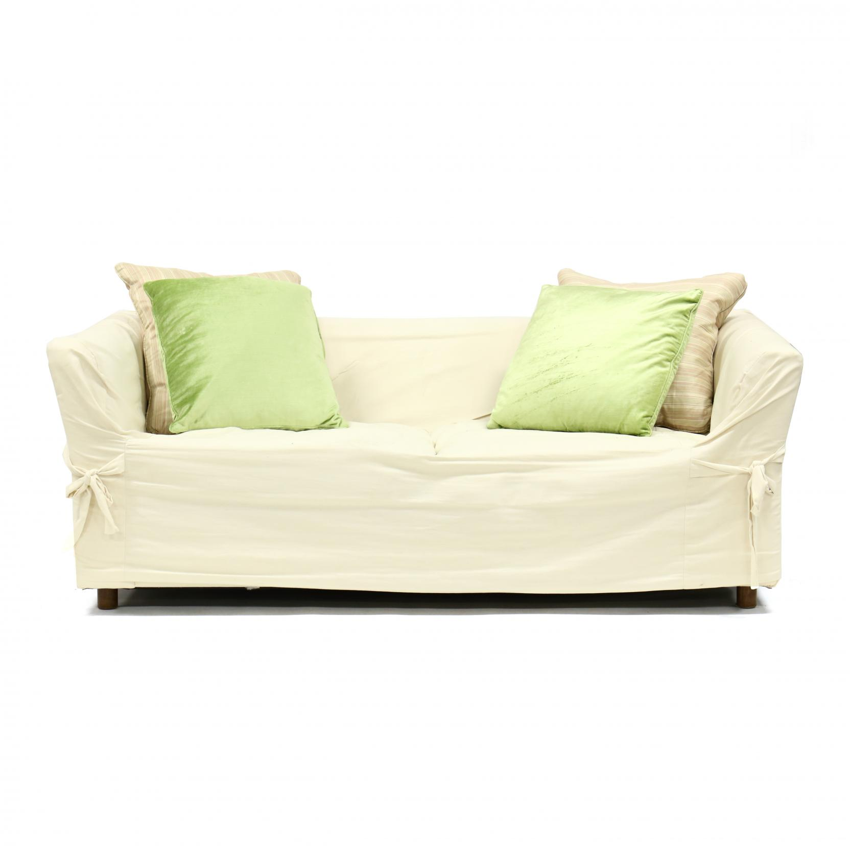 contemporary-slipcovered-loveseat