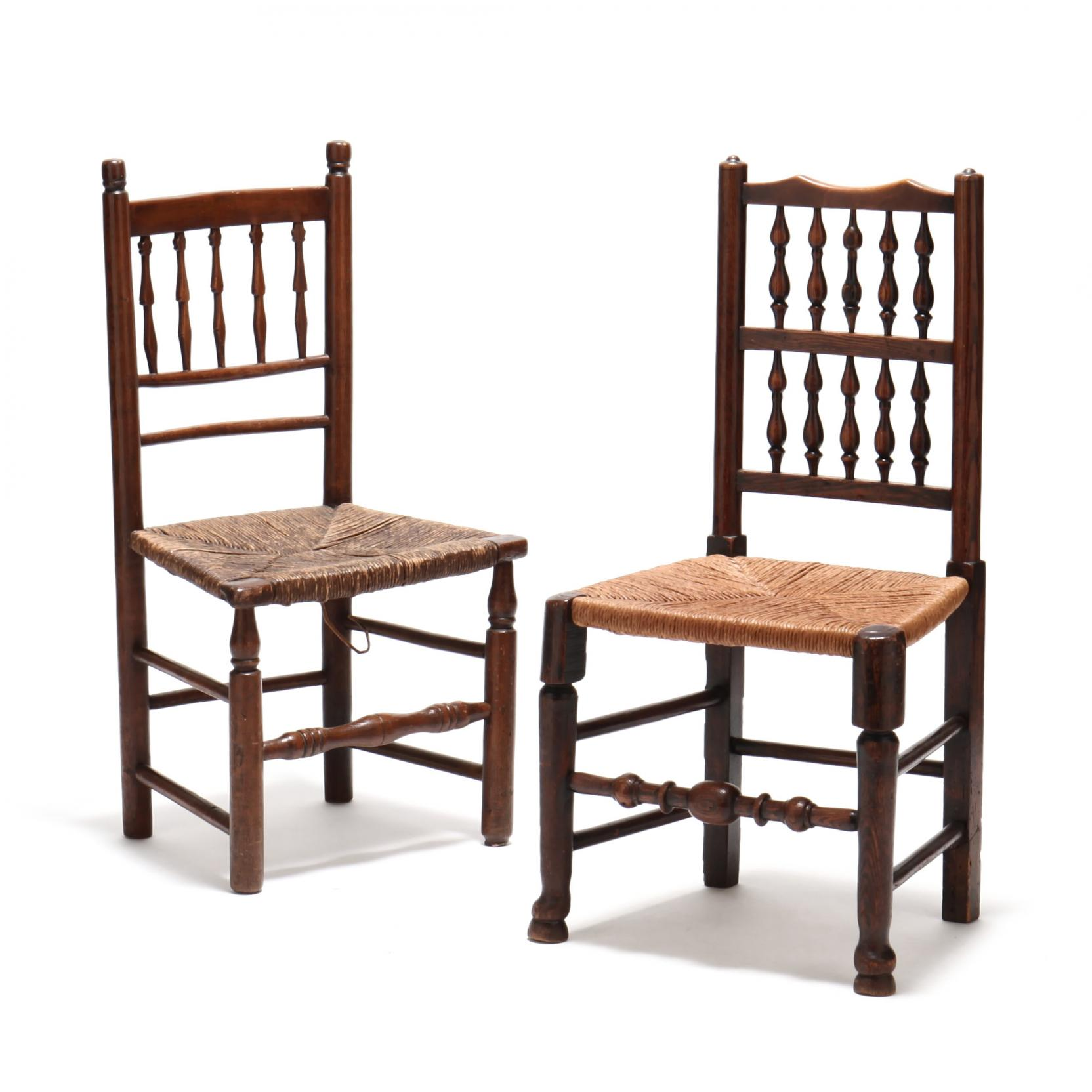 two-antique-banister-back-side-chairs