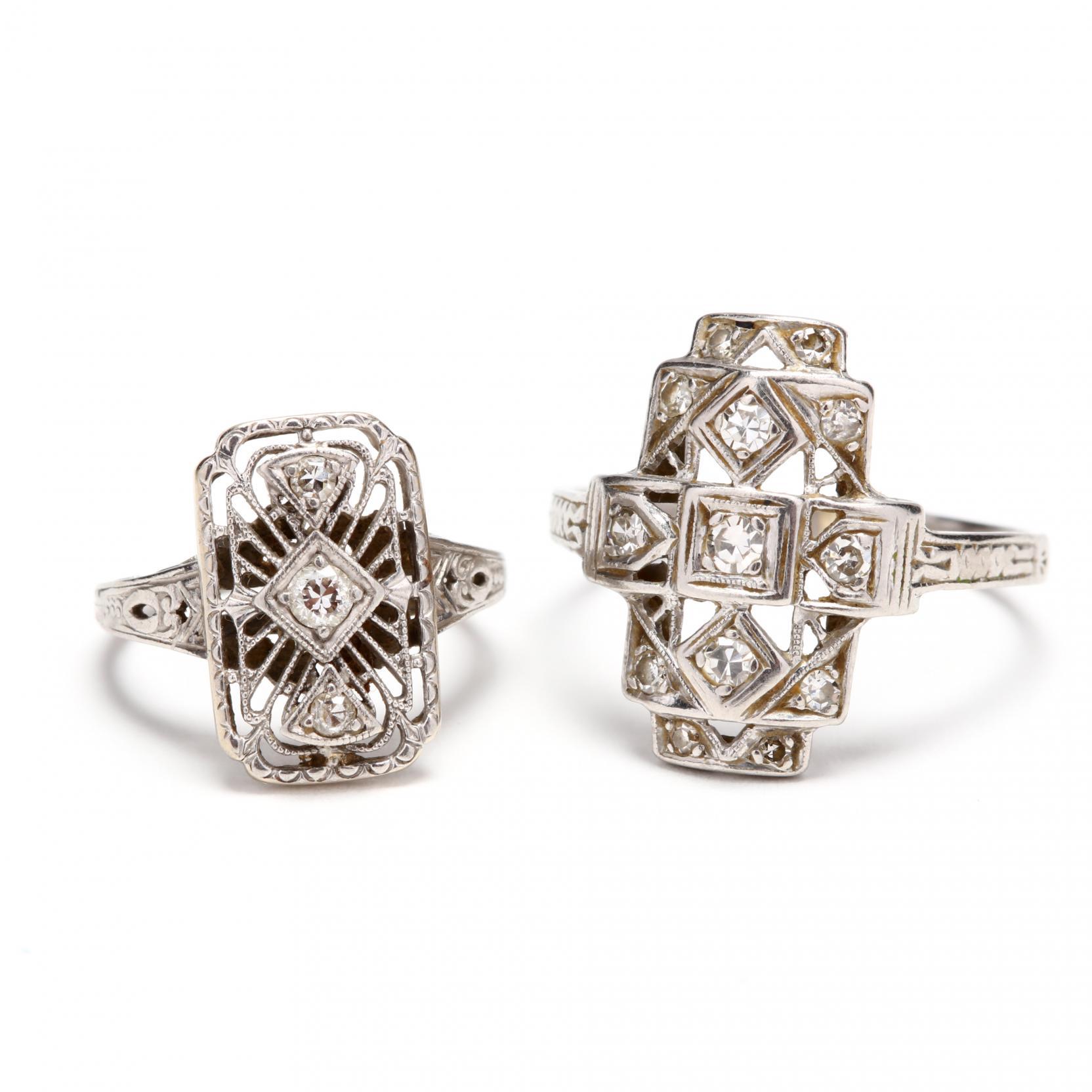 two-platinum-diamond-rings