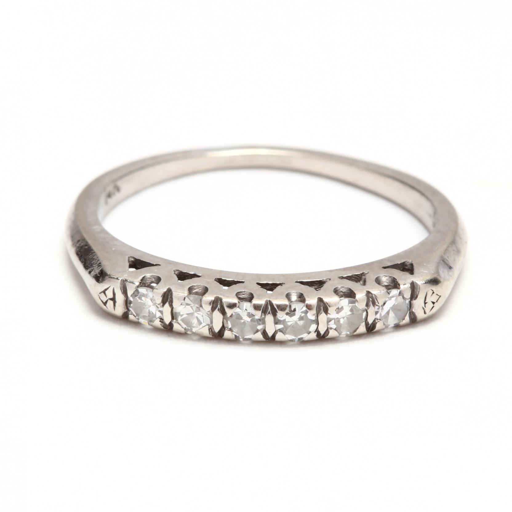 vintage-14kt-white-gold-diamond-band
