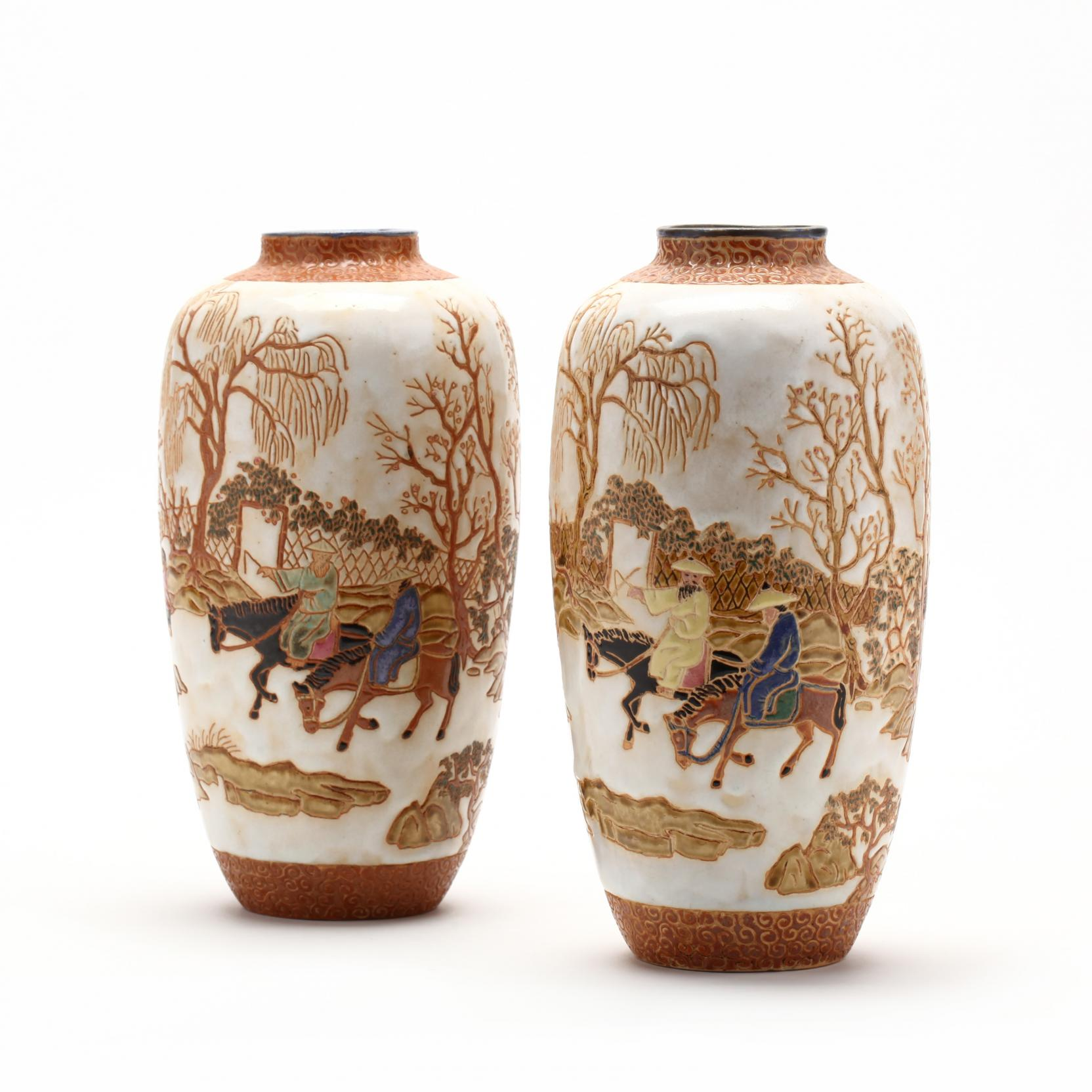 pair-of-vintage-asian-stoneware-vases