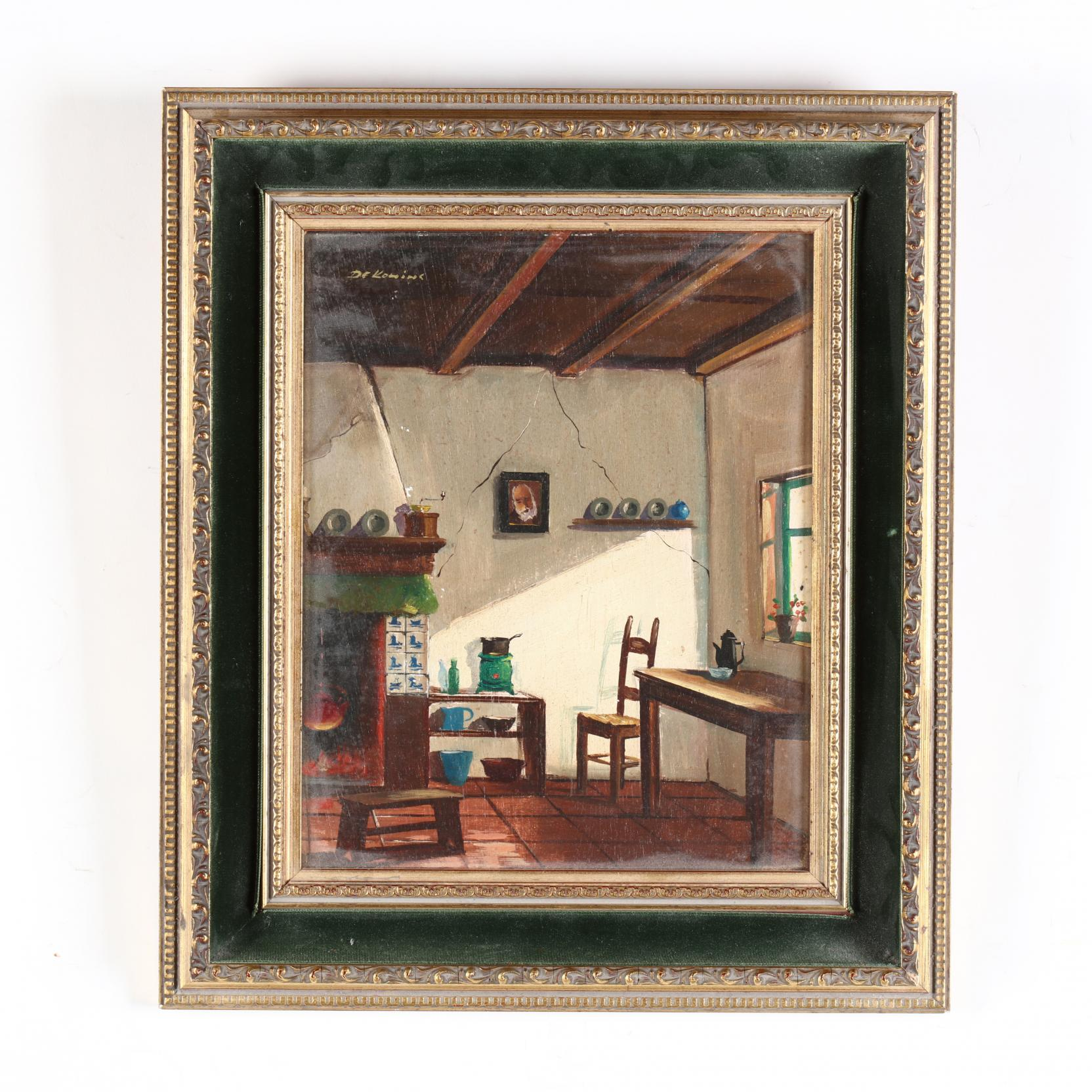 mid-century-dutch-school-interior-painting