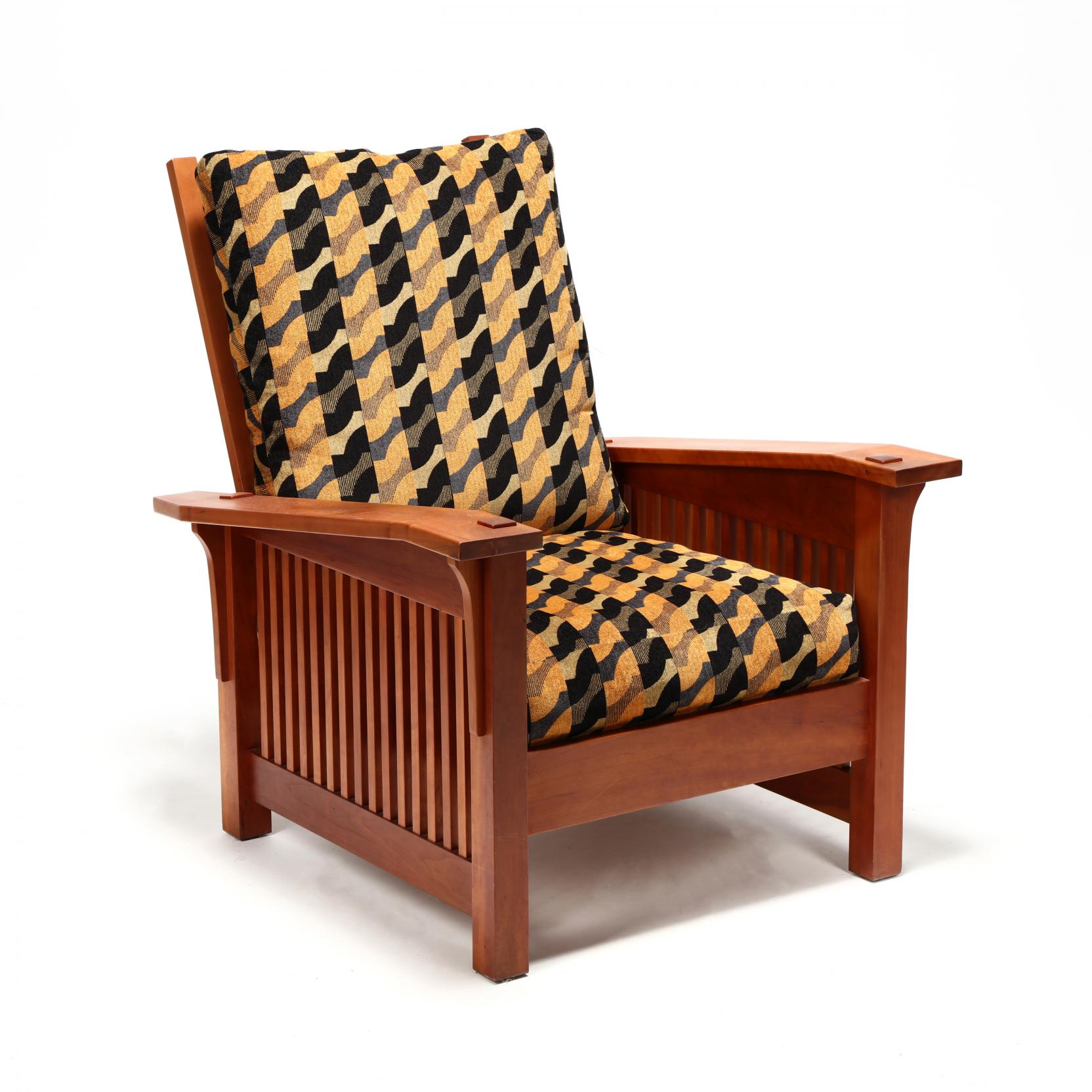 william-laberge-vt-mission-style-lounge-chair