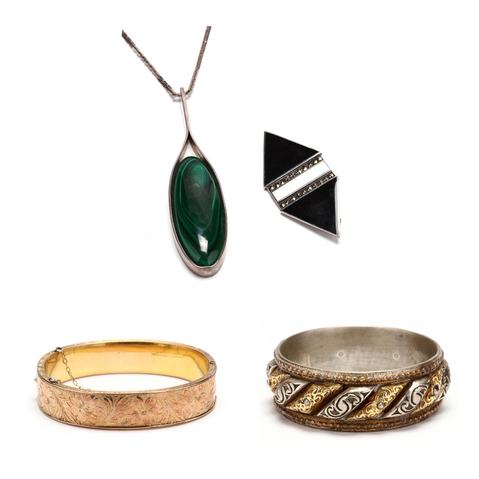 four-jewelry-items