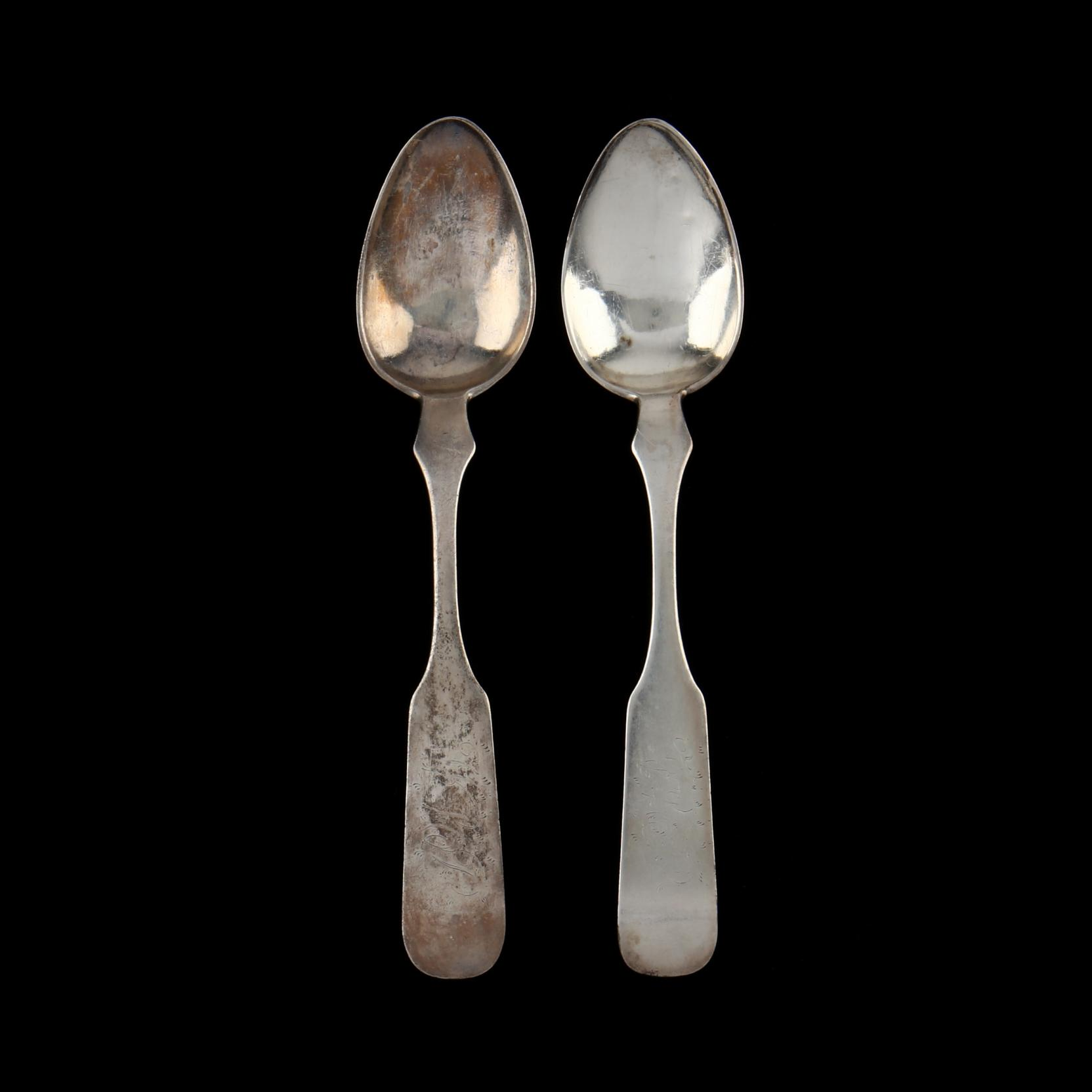 a-pair-of-north-carolina-coin-silver-teaspoons-mark-of-traugott-linebach