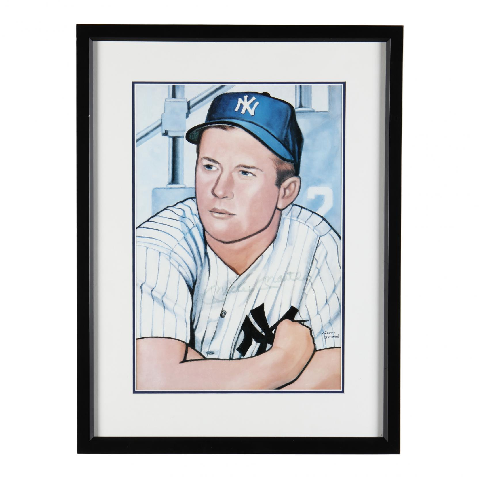mickey-mantle-lithograph