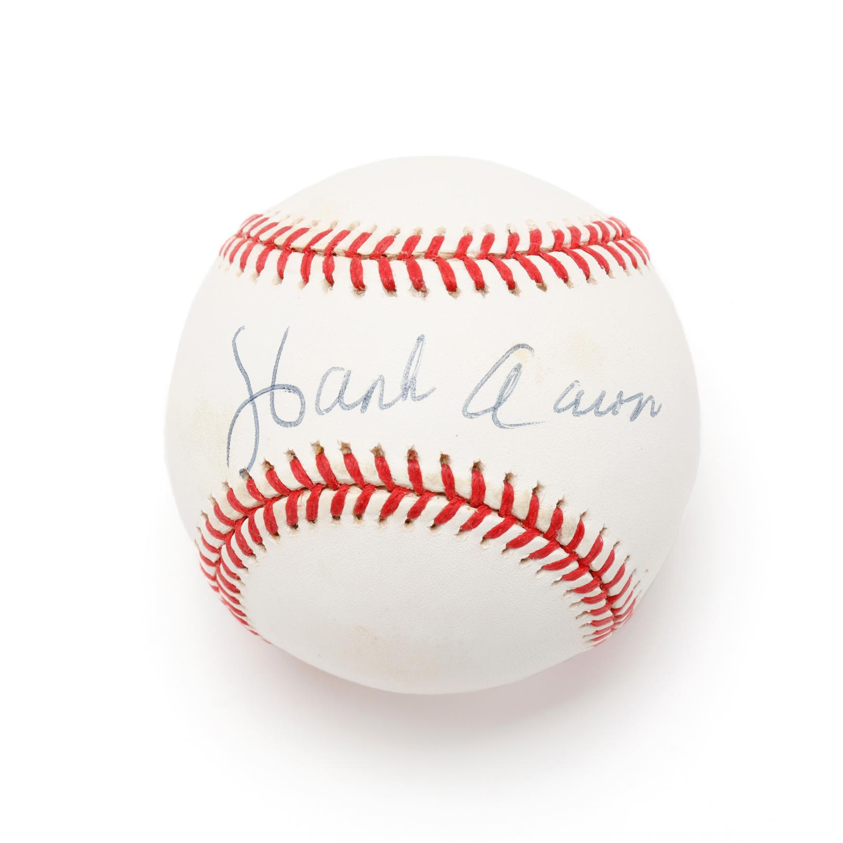hank-aaron-autographed-baseball