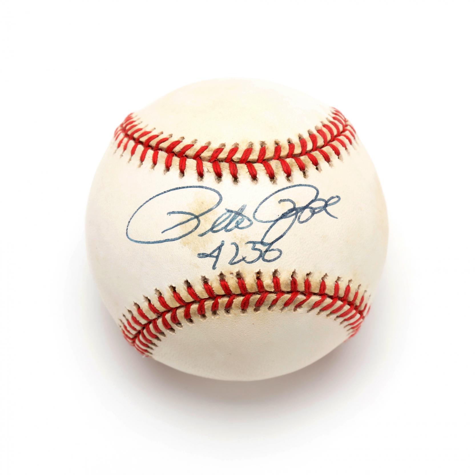 pete-rose-autographed-baseball