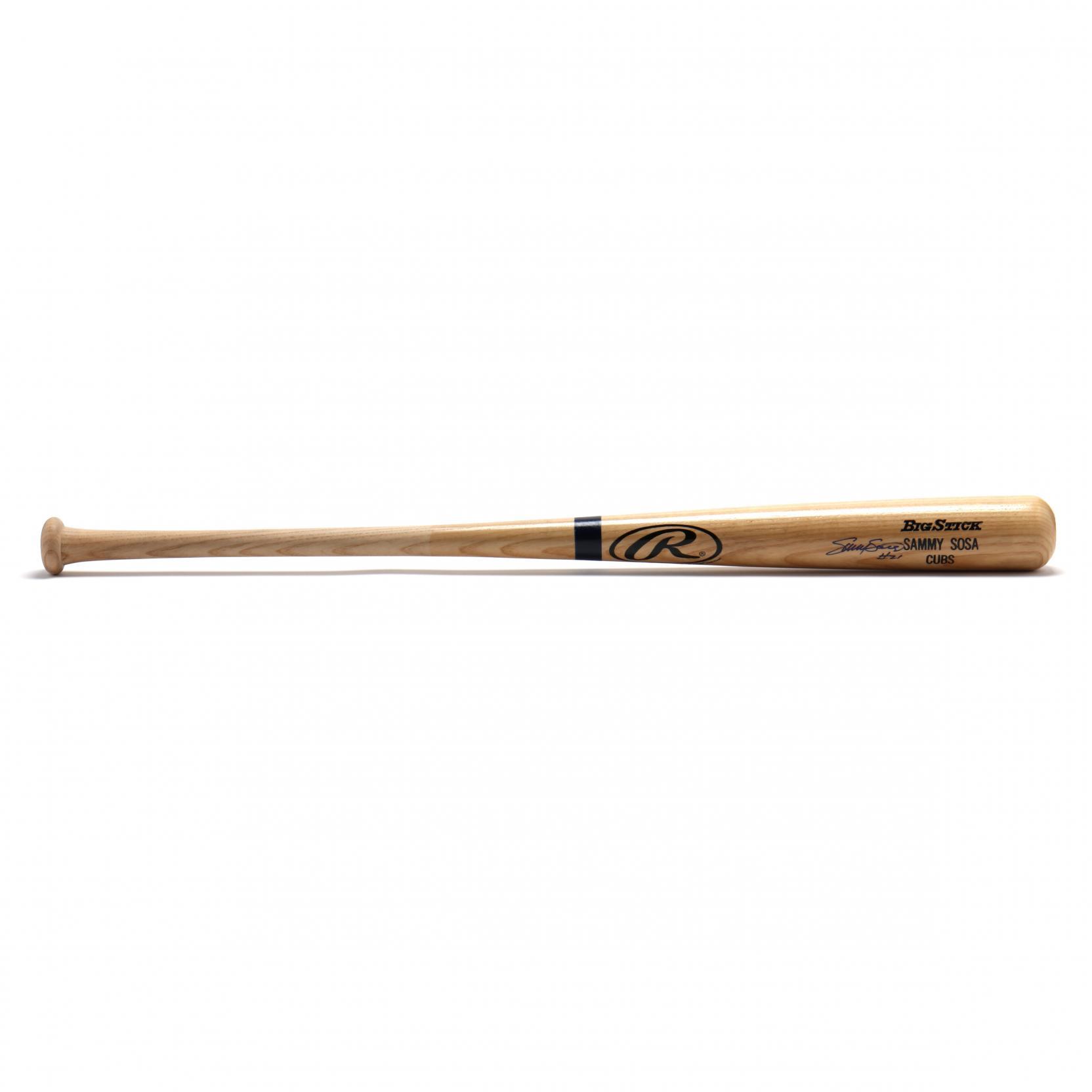 sammy-sosa-21-cubs-autographed-big-stick-bat