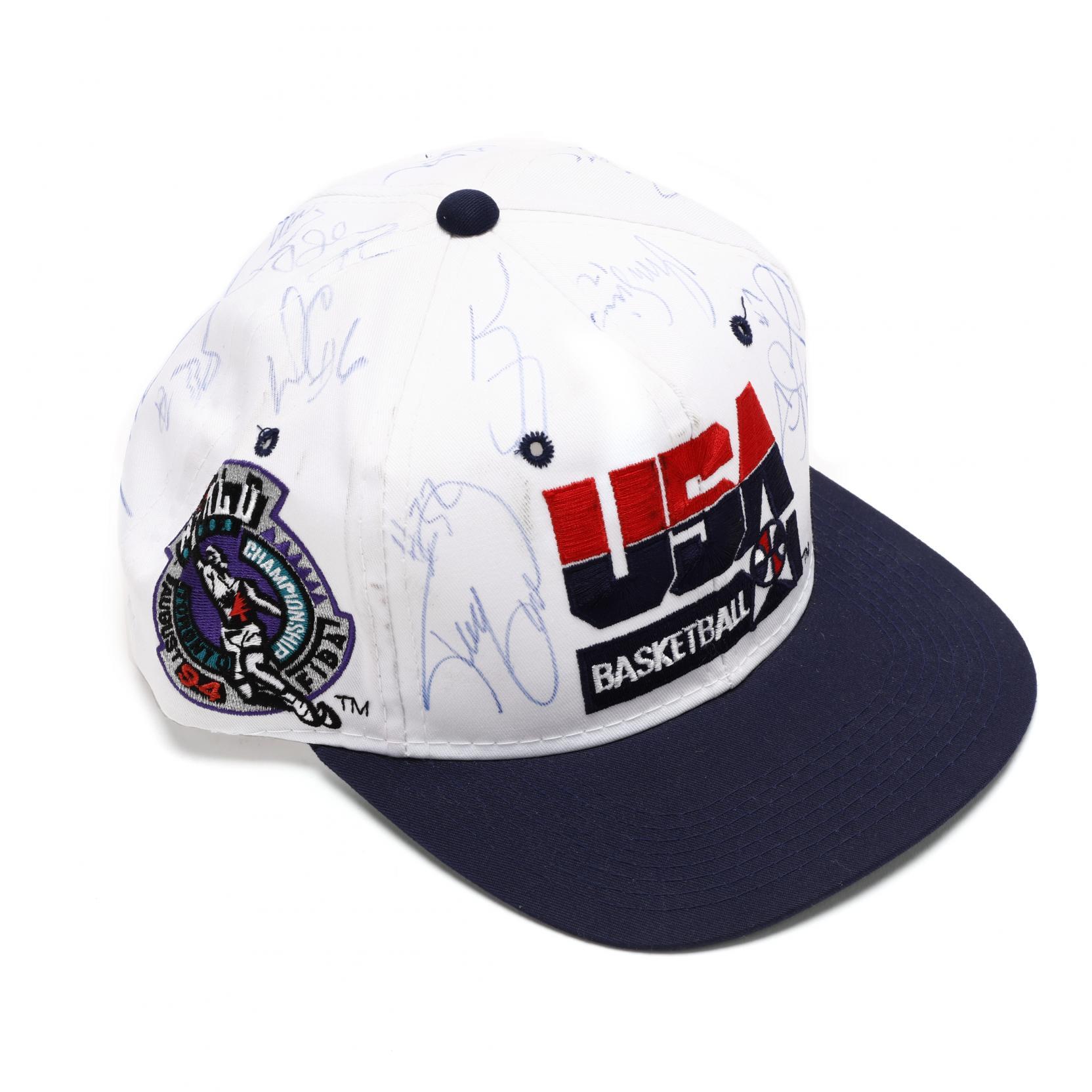 1994-fiba-world-championship-usa-basketball-signed-team-cap