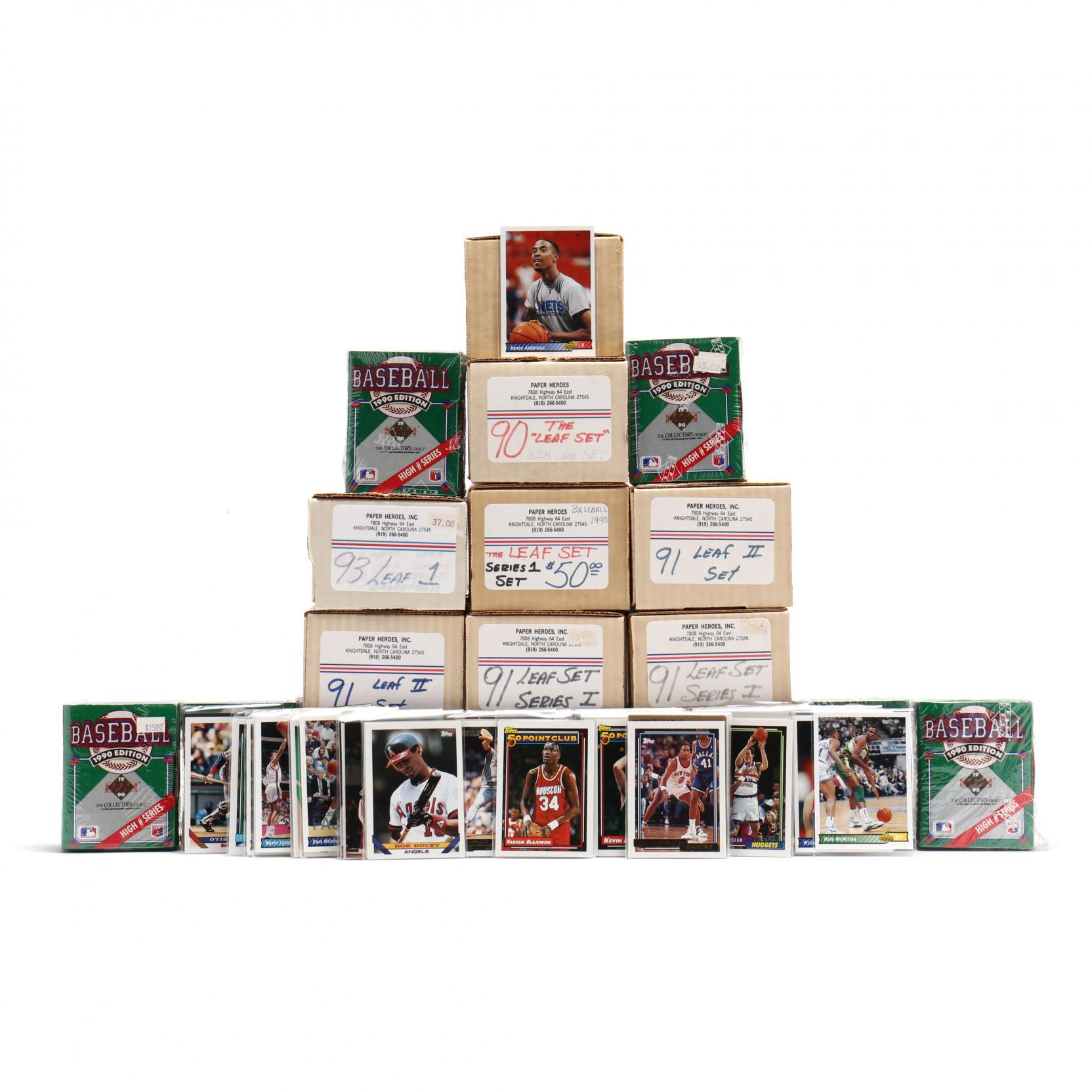 fifteen-boxes-of-1990-91-93-major-league-baseball-cards