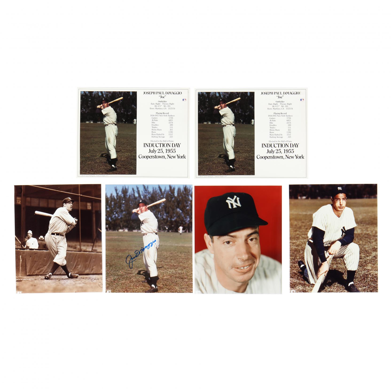 joe-dimaggio-photograph-collection-with-one-autographed-image