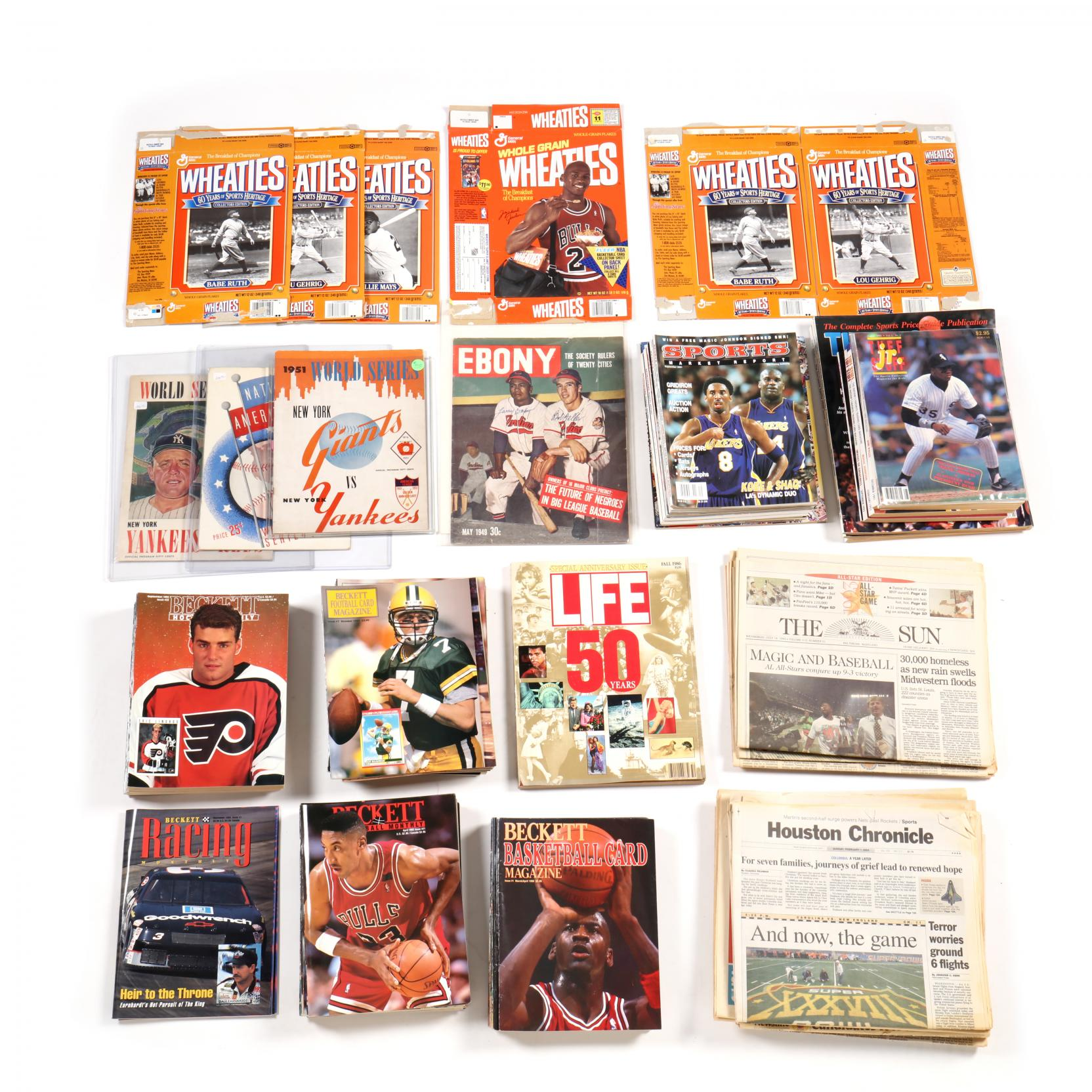 group-lot-of-sports-related-price-guides-magazines-wheaties-boxes