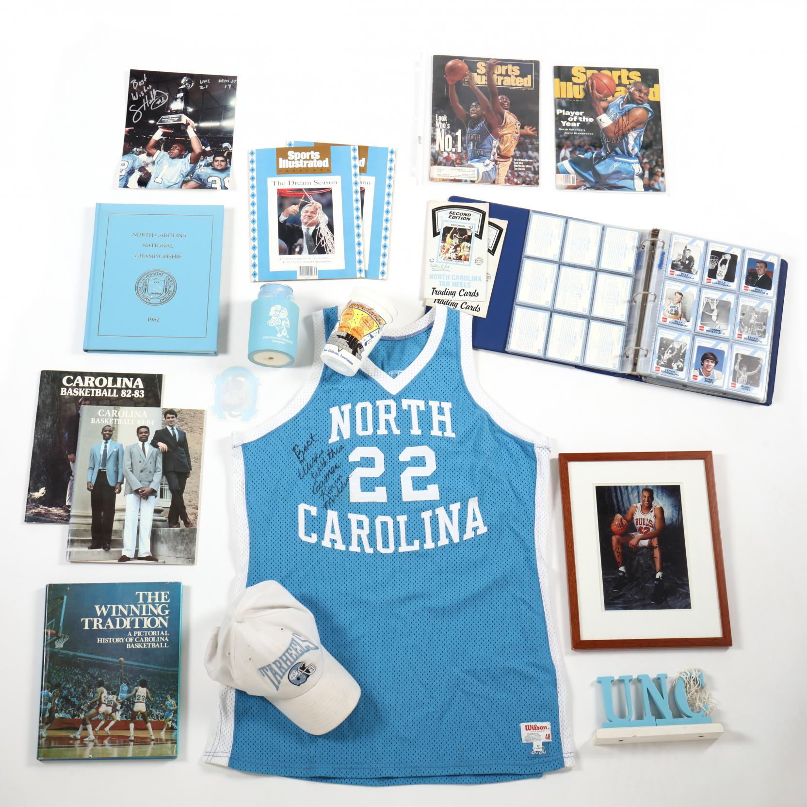 unc-basketball-sports-collection