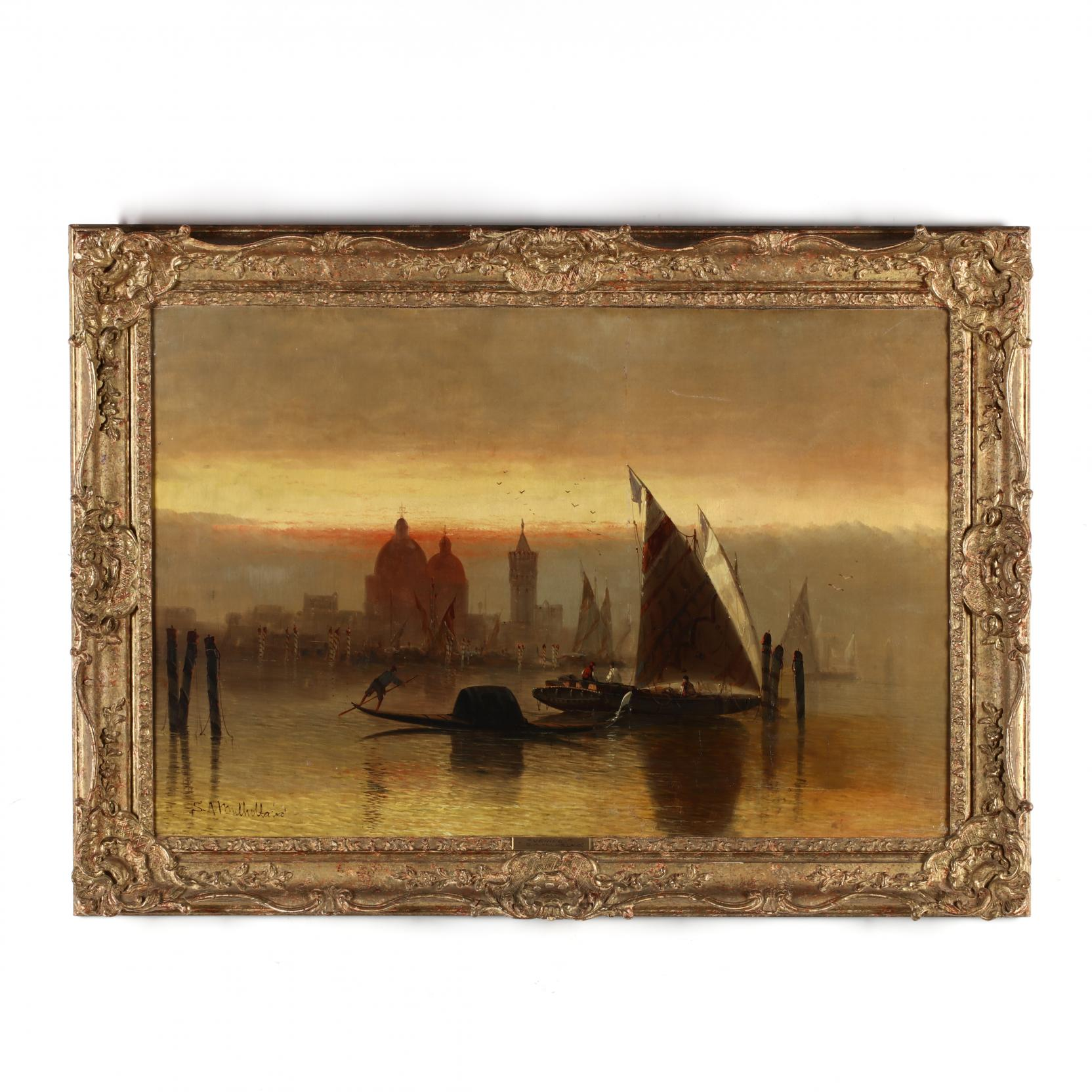 samuel-a-mulholland-british-19th-20th-century-the-grand-canal-at-dusk