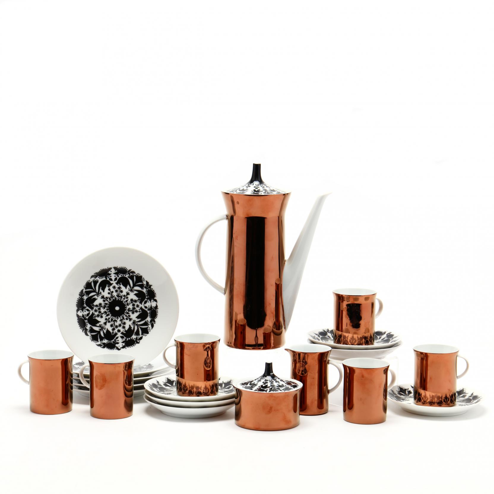 rosenthal-hilton-studio-line-porcelain-dessert-set