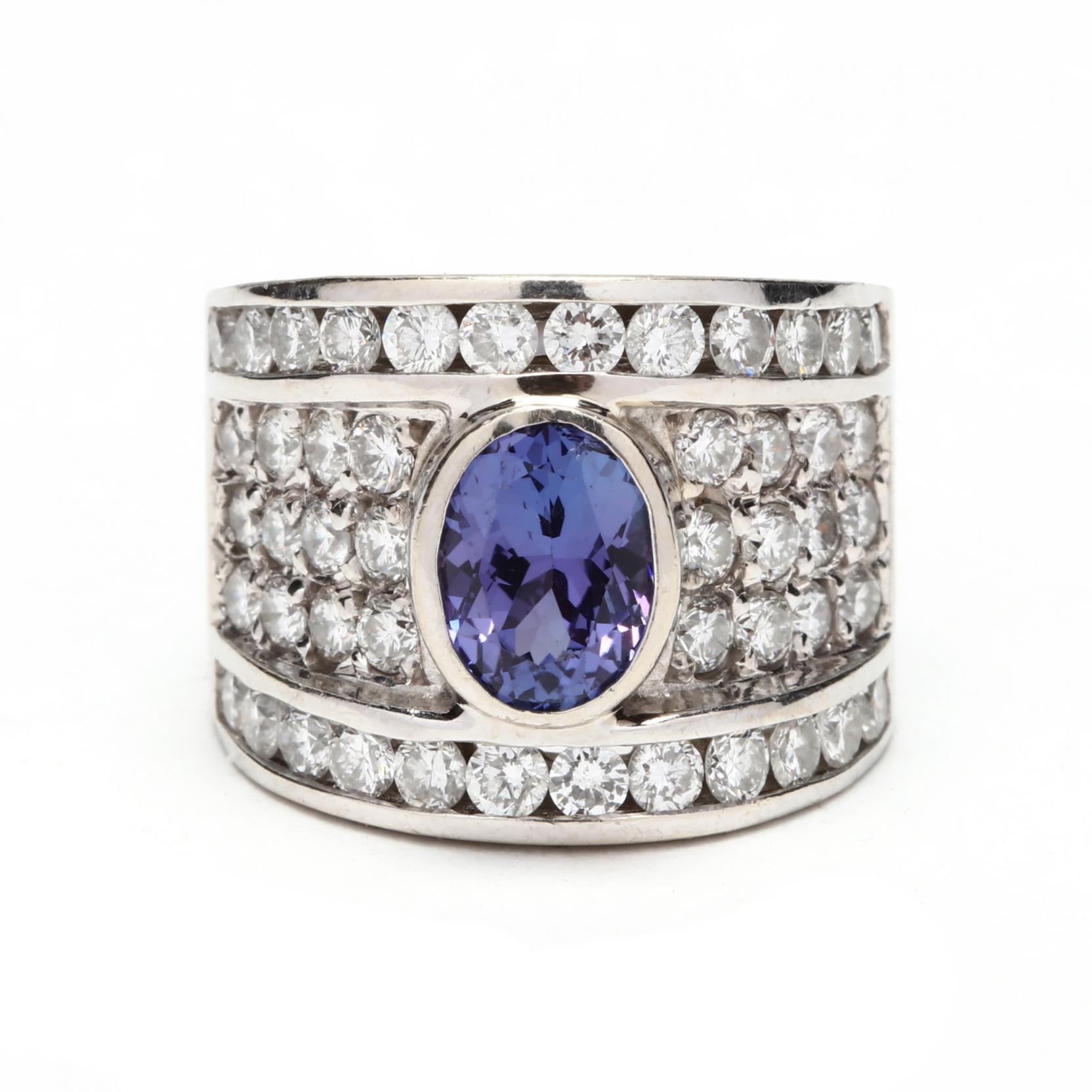 14kt-white-gold-tanzanite-and-diamond-ring
