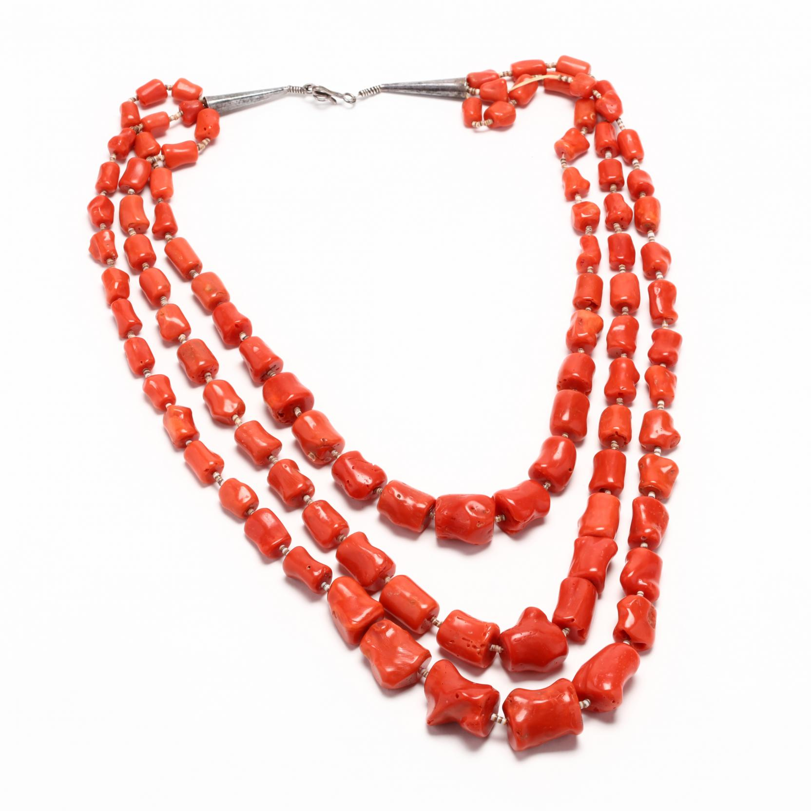 triple-strand-coral-necklace