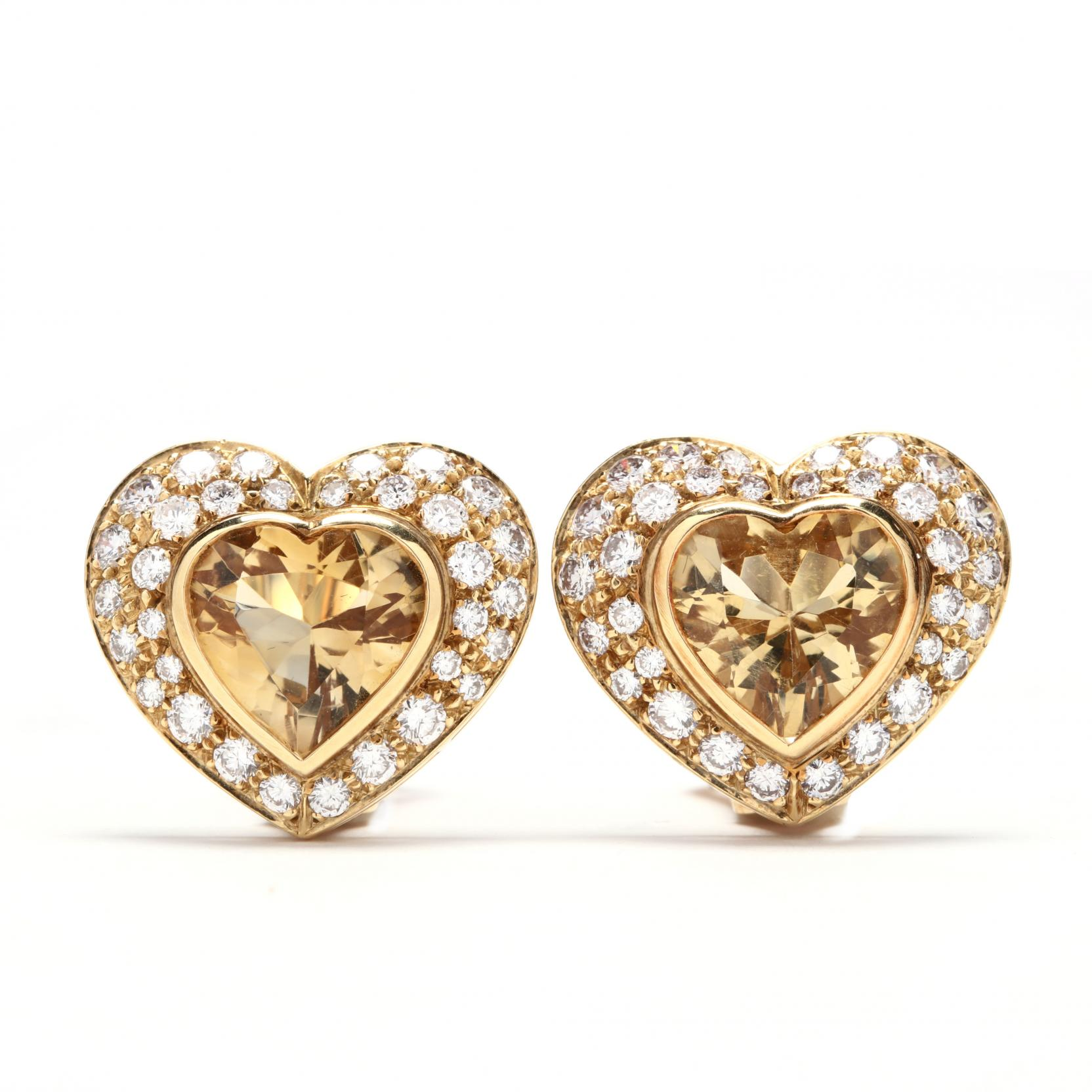 18kt-gold-citrine-and-diamond-earrings