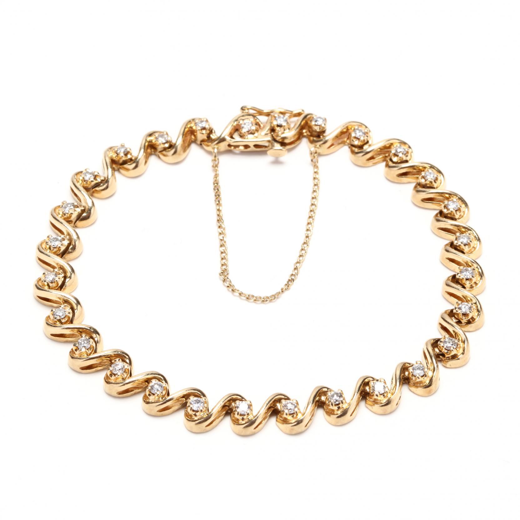 14kt-diamond-line-bracelet
