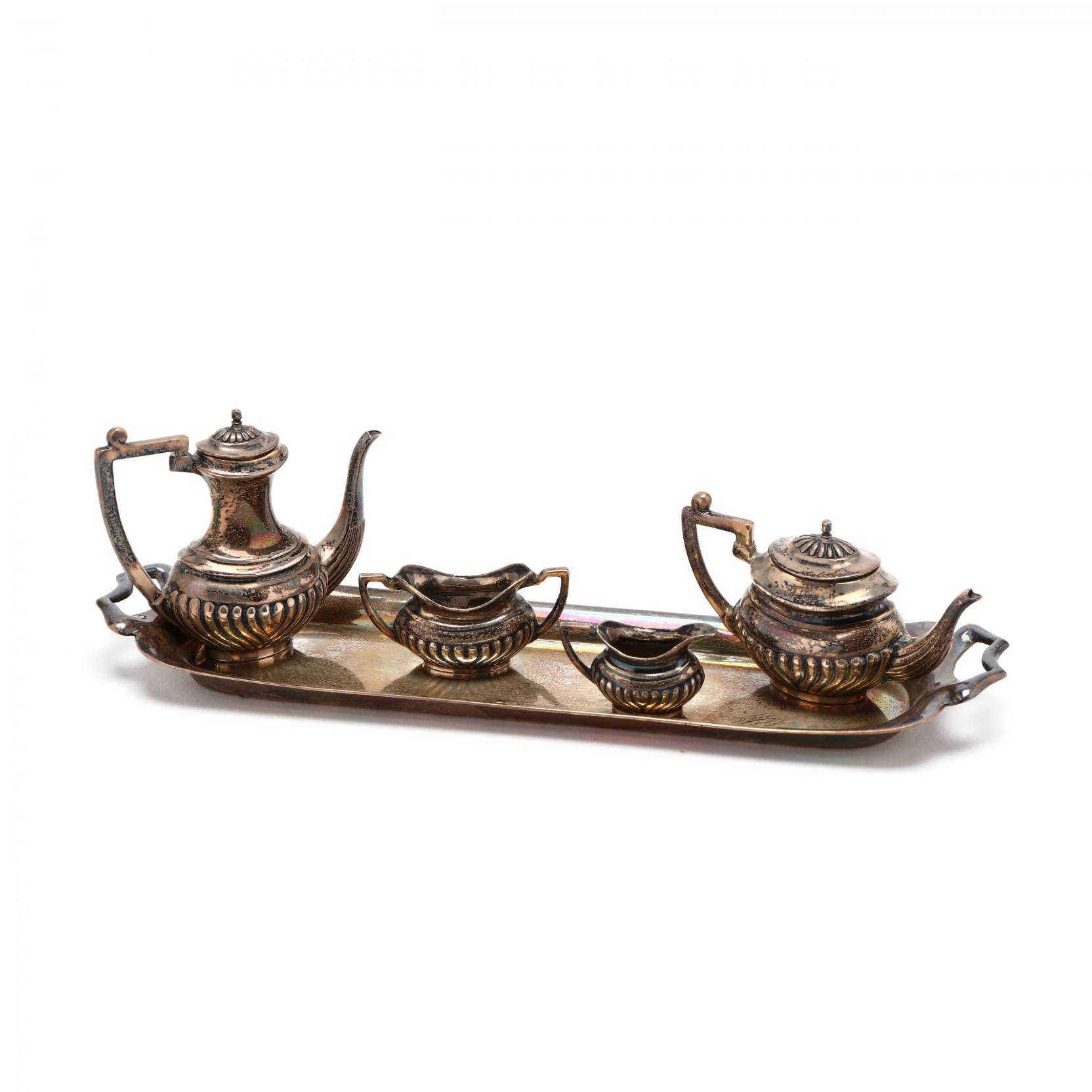 an-elizabeth-ii-silver-miniature-tea-coffee-service