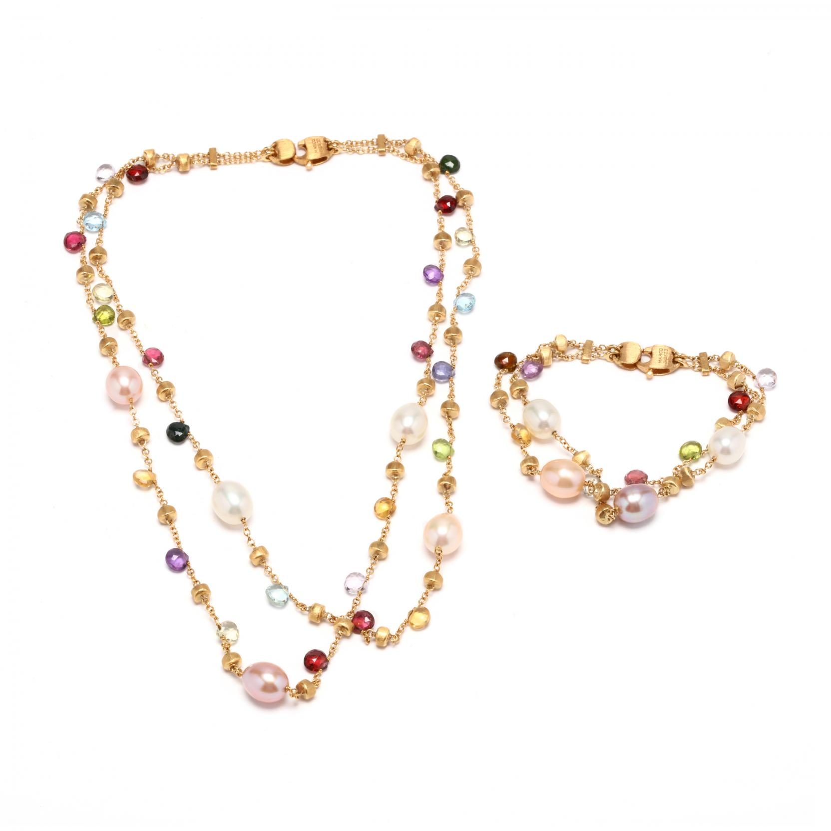 18kt-gold-pearl-and-gemstone-suite-marco-bicego
