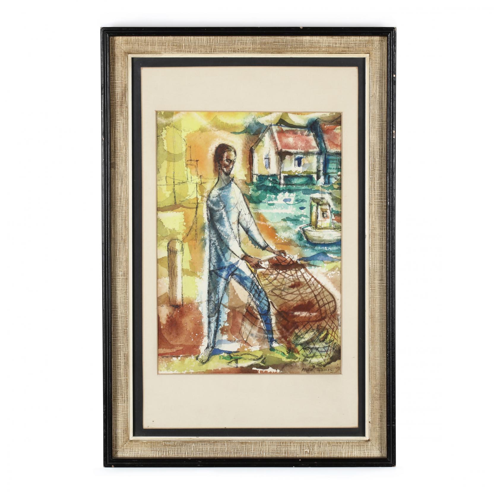 frederick-d-fred-jones-american-1914-1996-a-fisherman